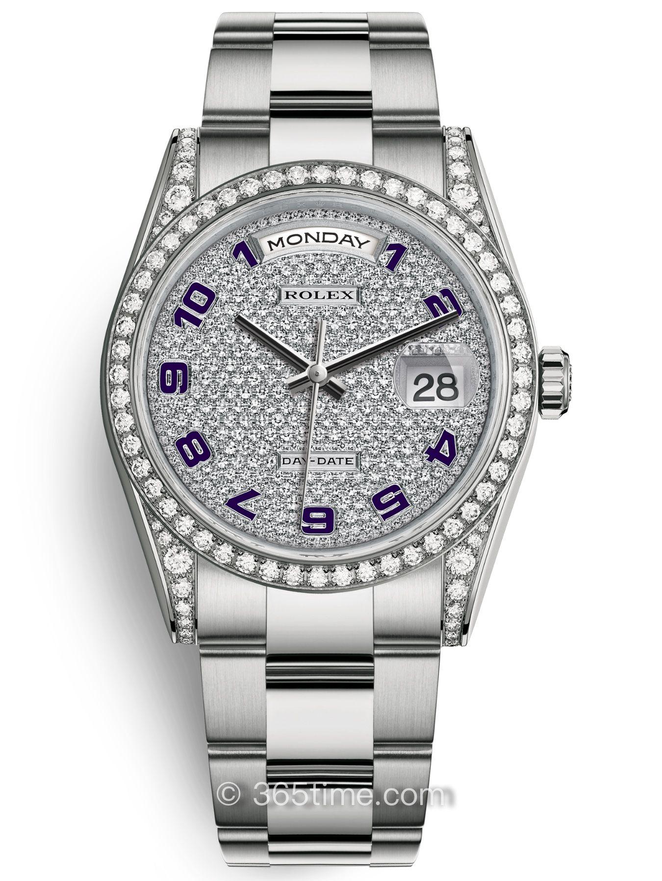 Rolex劳力士星期日历型36腕表118389-0123