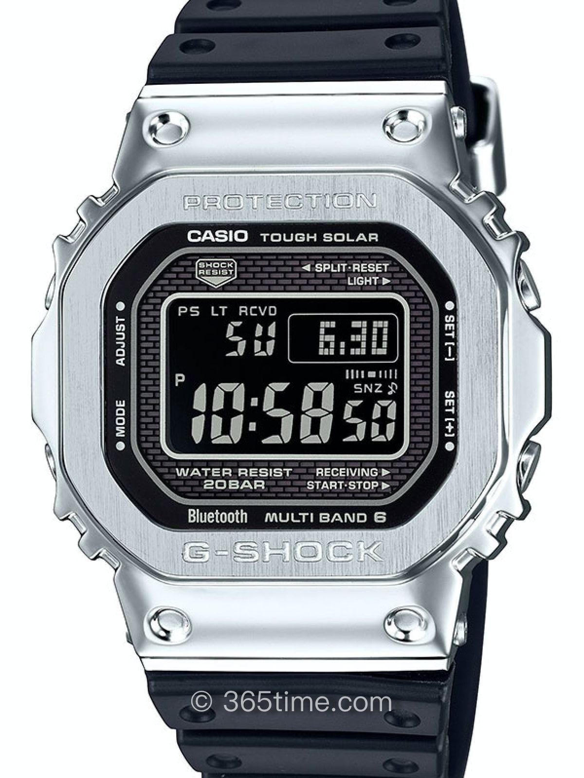 卡西欧G-Shock系列GMW-B5000不锈钢腕表