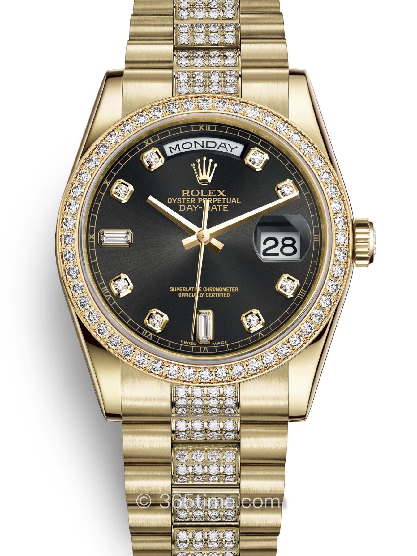Rolex劳力士星期日历型36腕表118348-0014