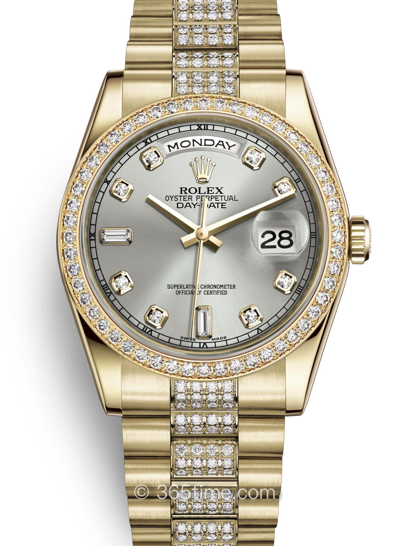 Rolex劳力士星期日历型36腕表118348-0039