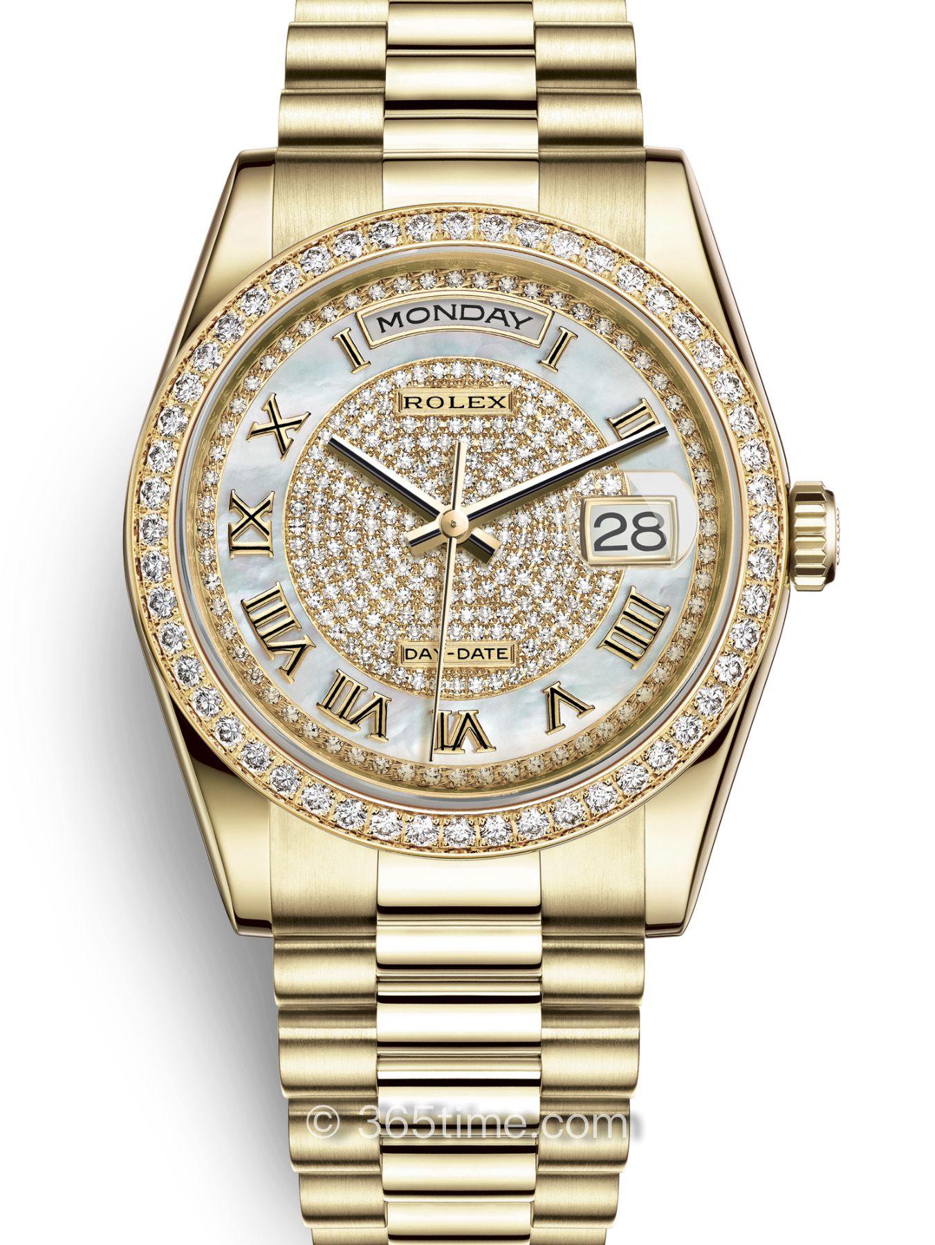Rolex劳力士星期日历型36腕表118348-0040