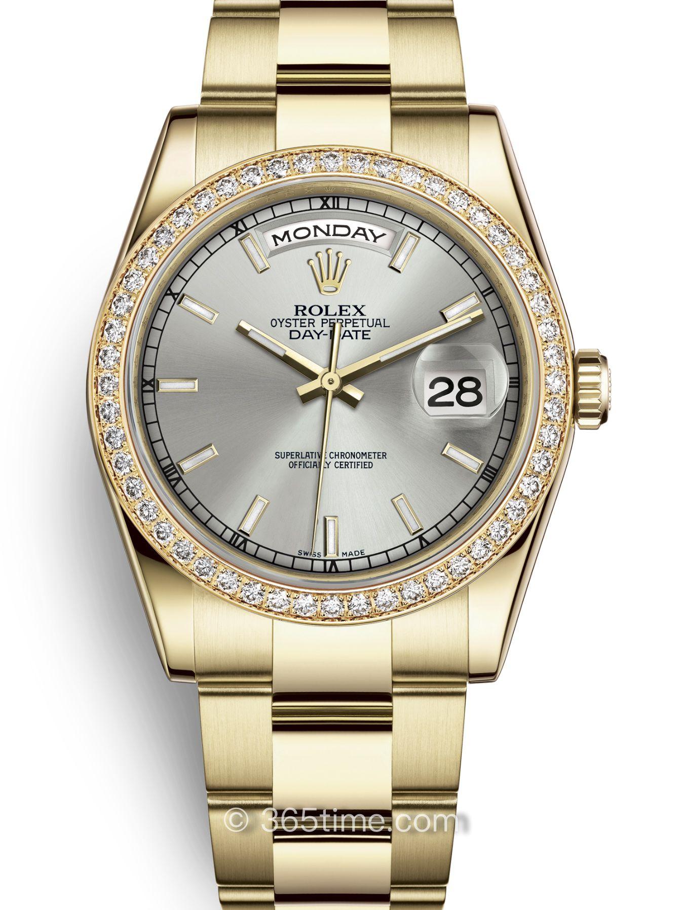 Rolex劳力士星期日历型36腕表118348-0046