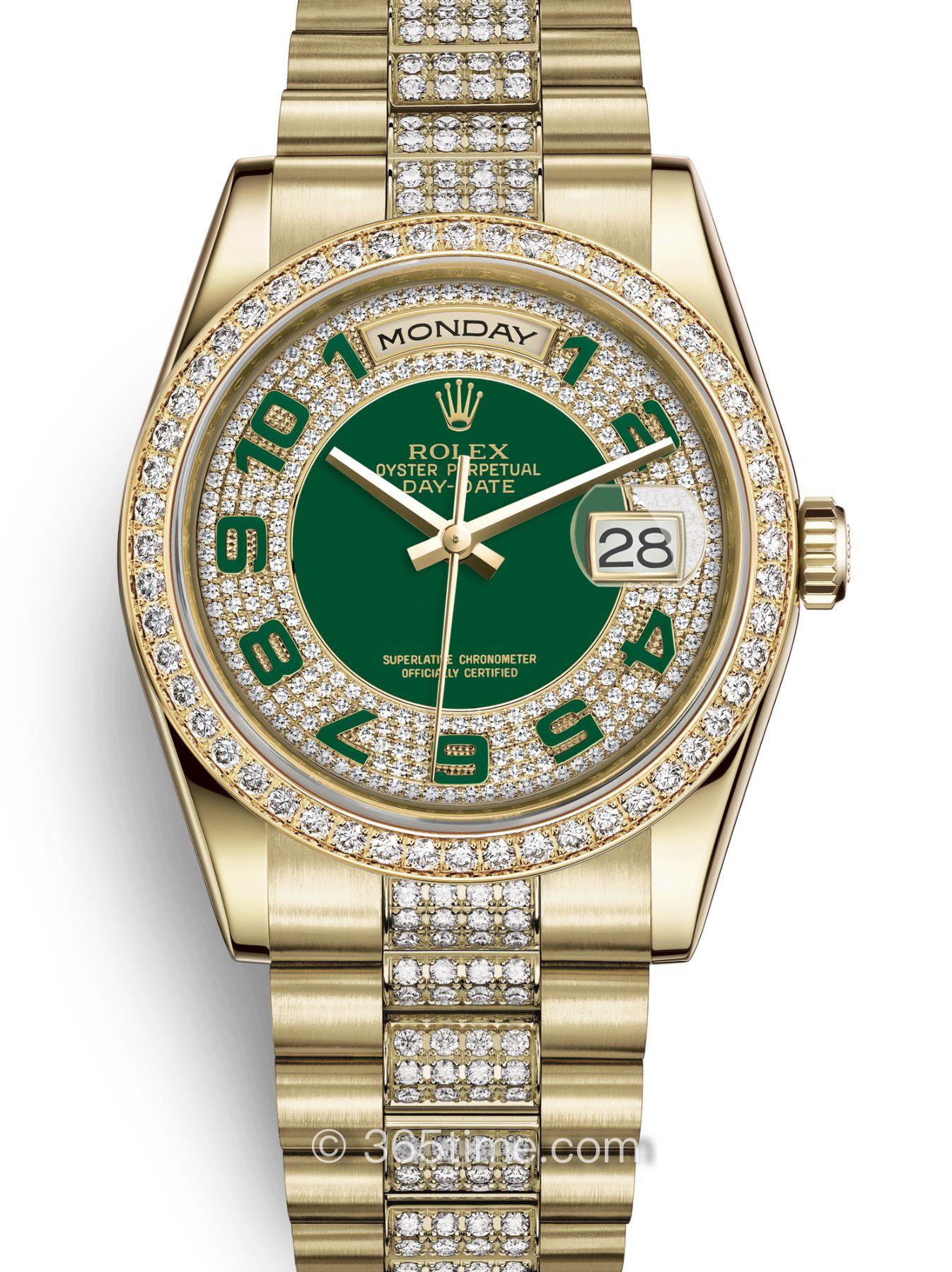 Rolex劳力士星期日历型36腕表118348-0056