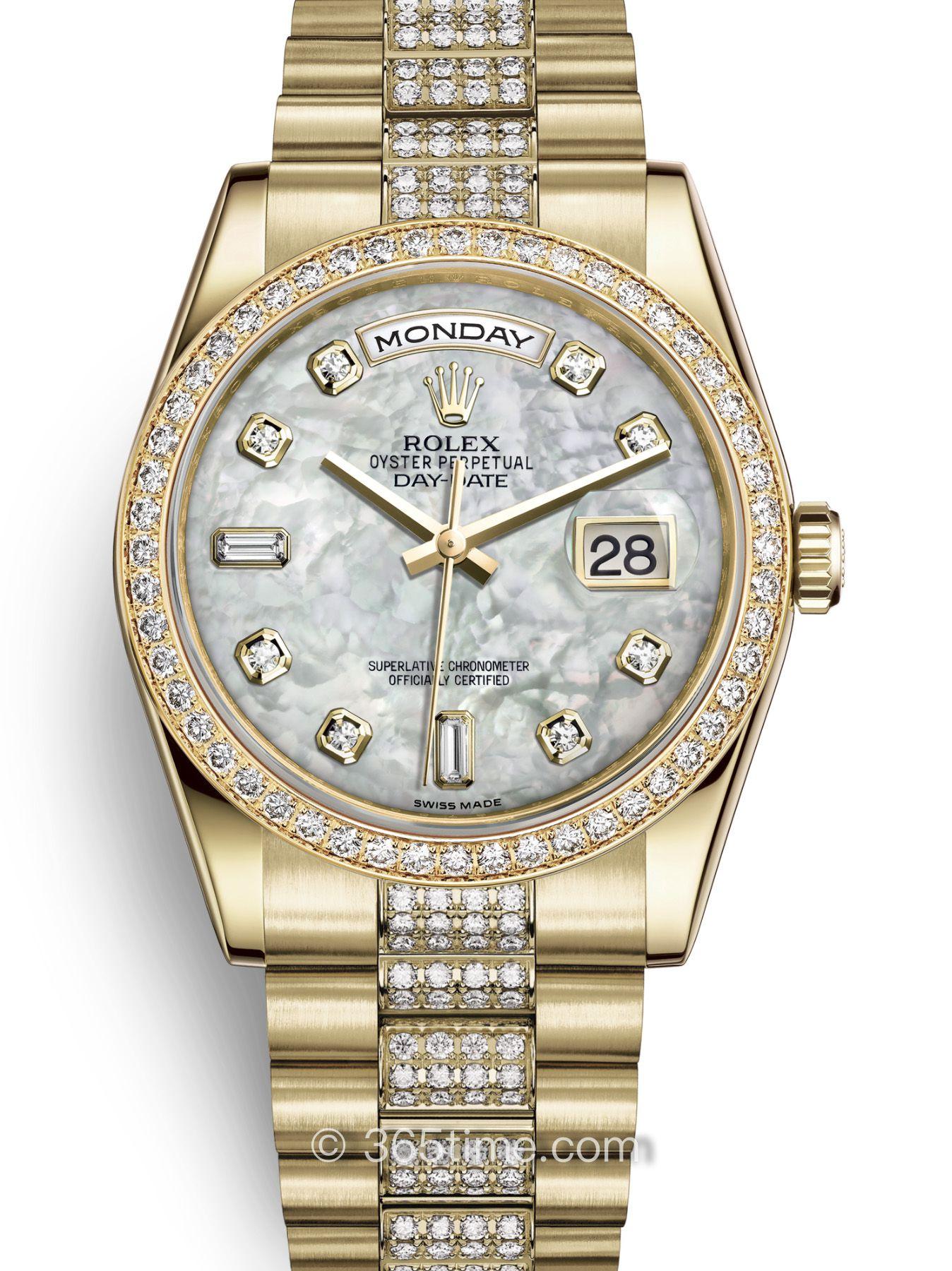 Rolex劳力士星期日历型36腕表118348-0061