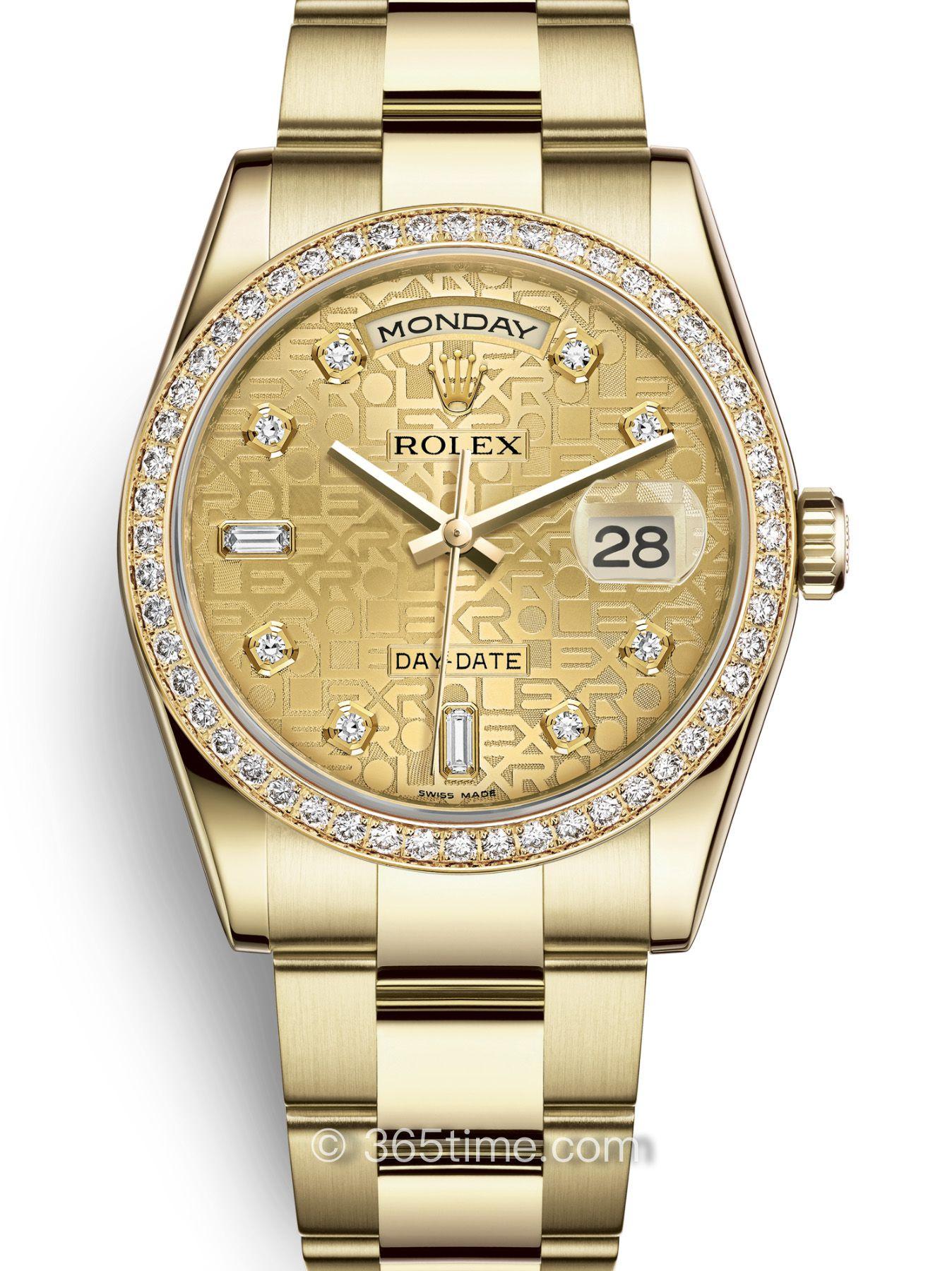 Rolex劳力士星期日历型36腕表118348-0152