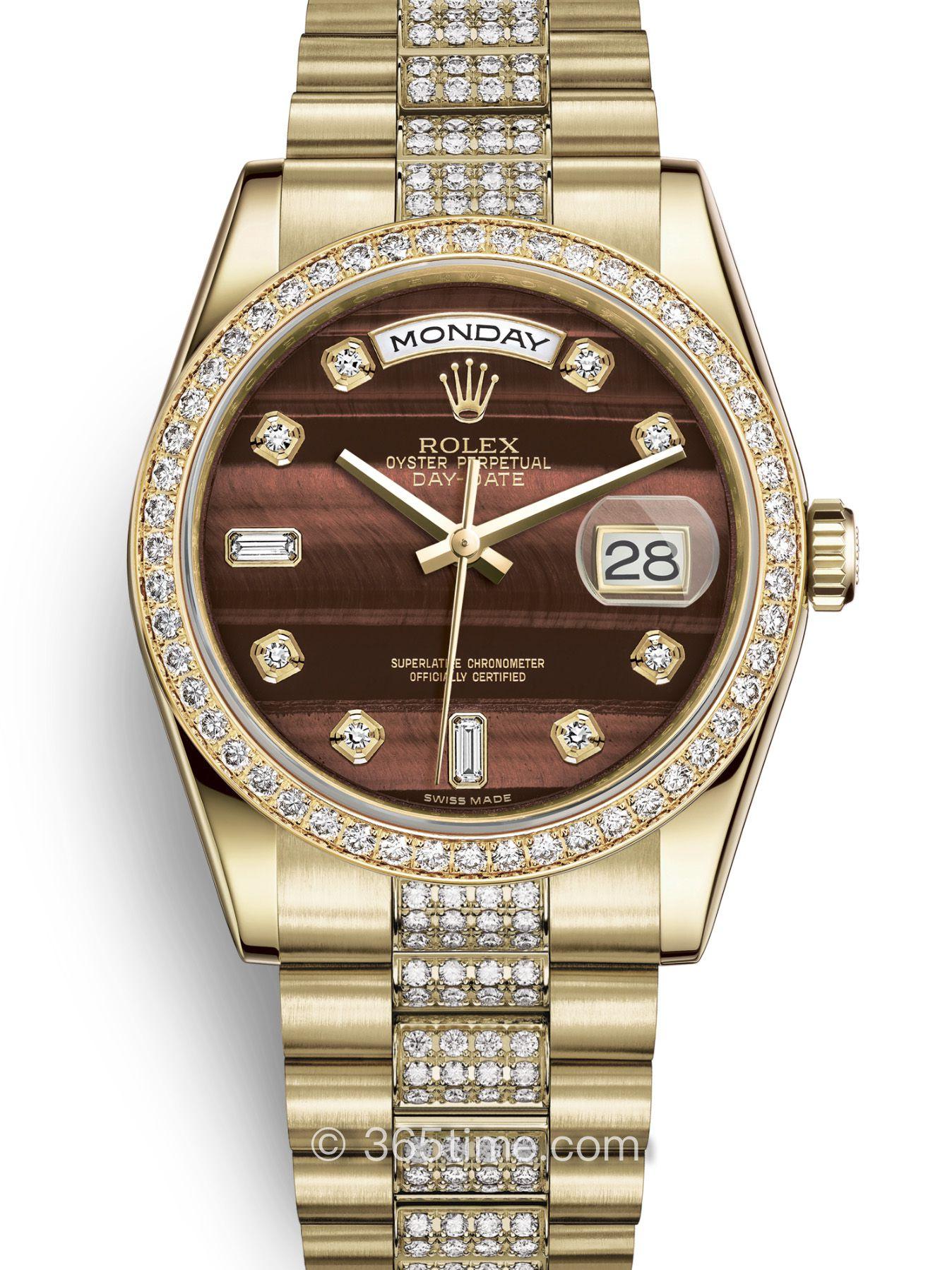 Rolex劳力士星期日历型36腕表118348-0155