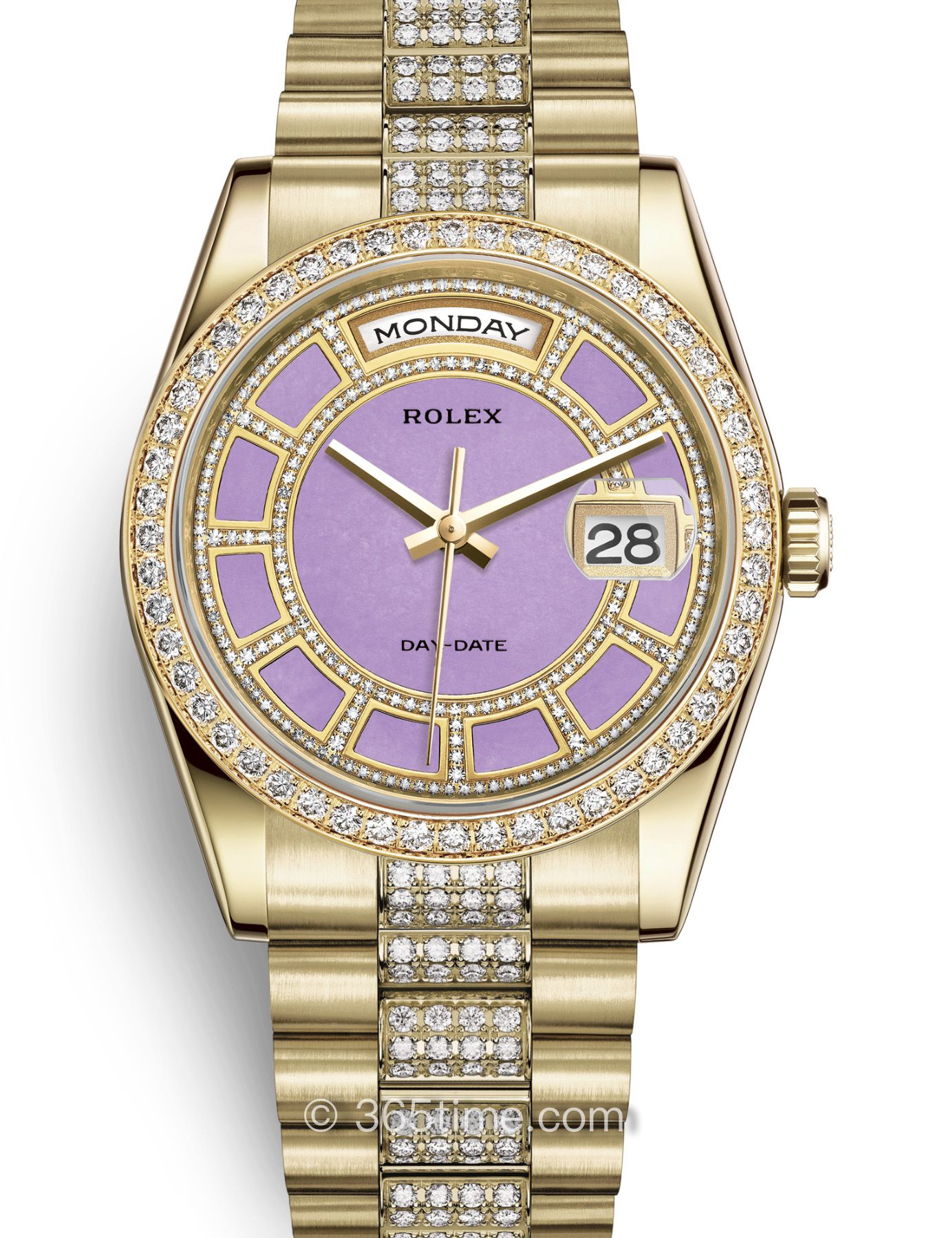 Rolex劳力士星期日历型36腕表118348-0195