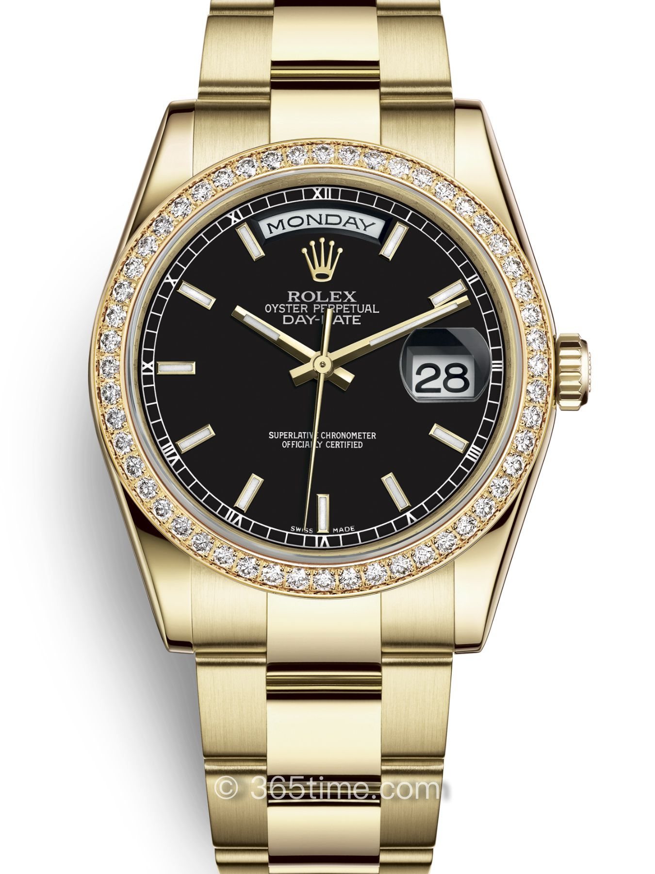 Rolex劳力士星期日历型36腕表118348-0208