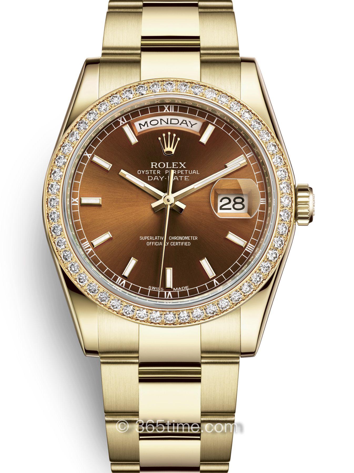 Rolex劳力士星期日历型36腕表118348-0227