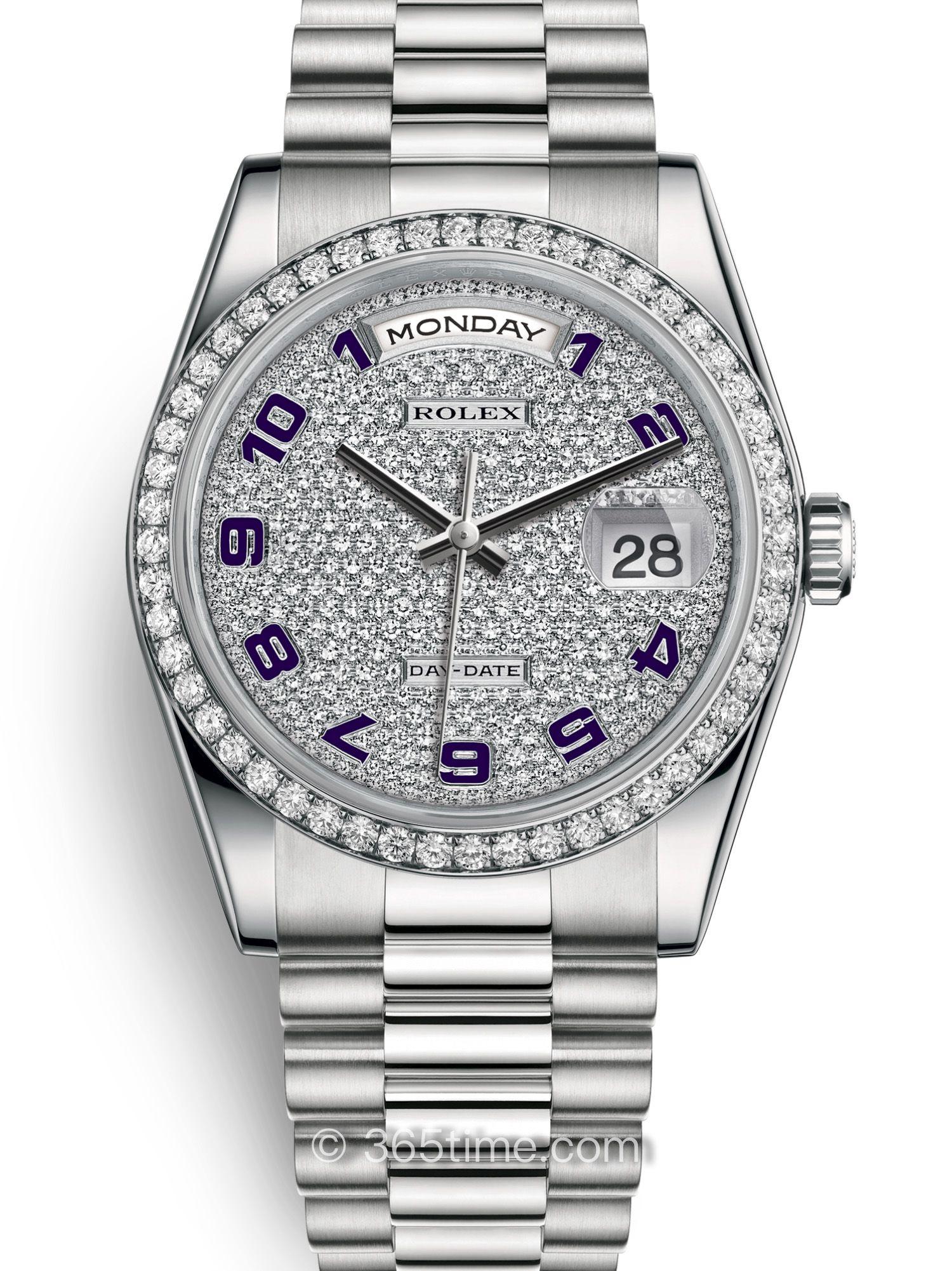 Rolex劳力士星期日历型36腕表118346-0036