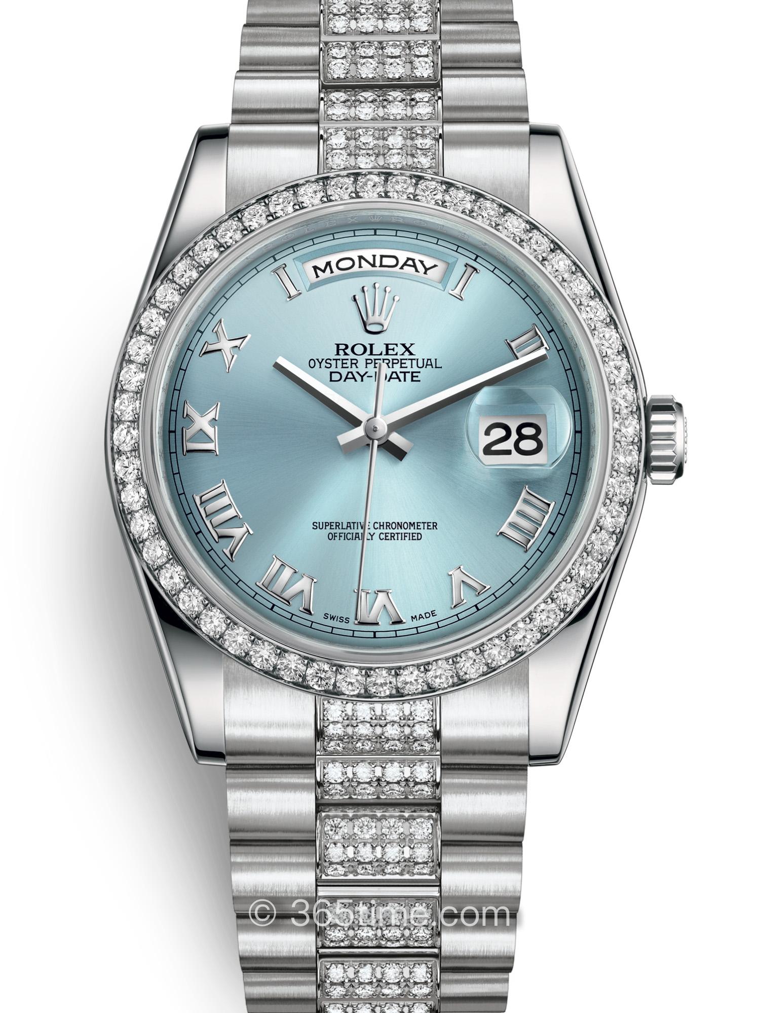 Rolex劳力士星期日历型36腕表118346-0044