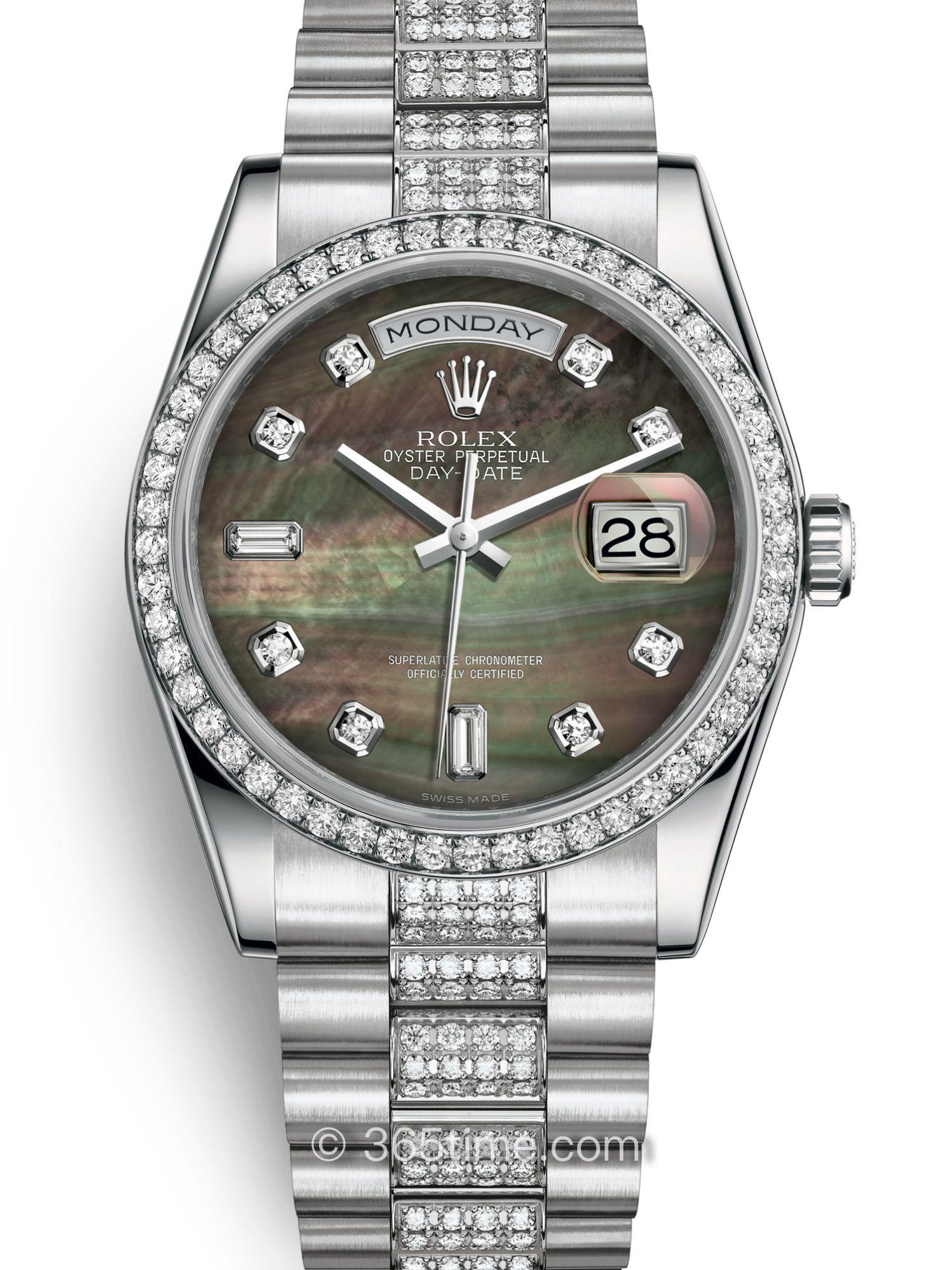 Rolex劳力士星期日历型36腕表118346-0074