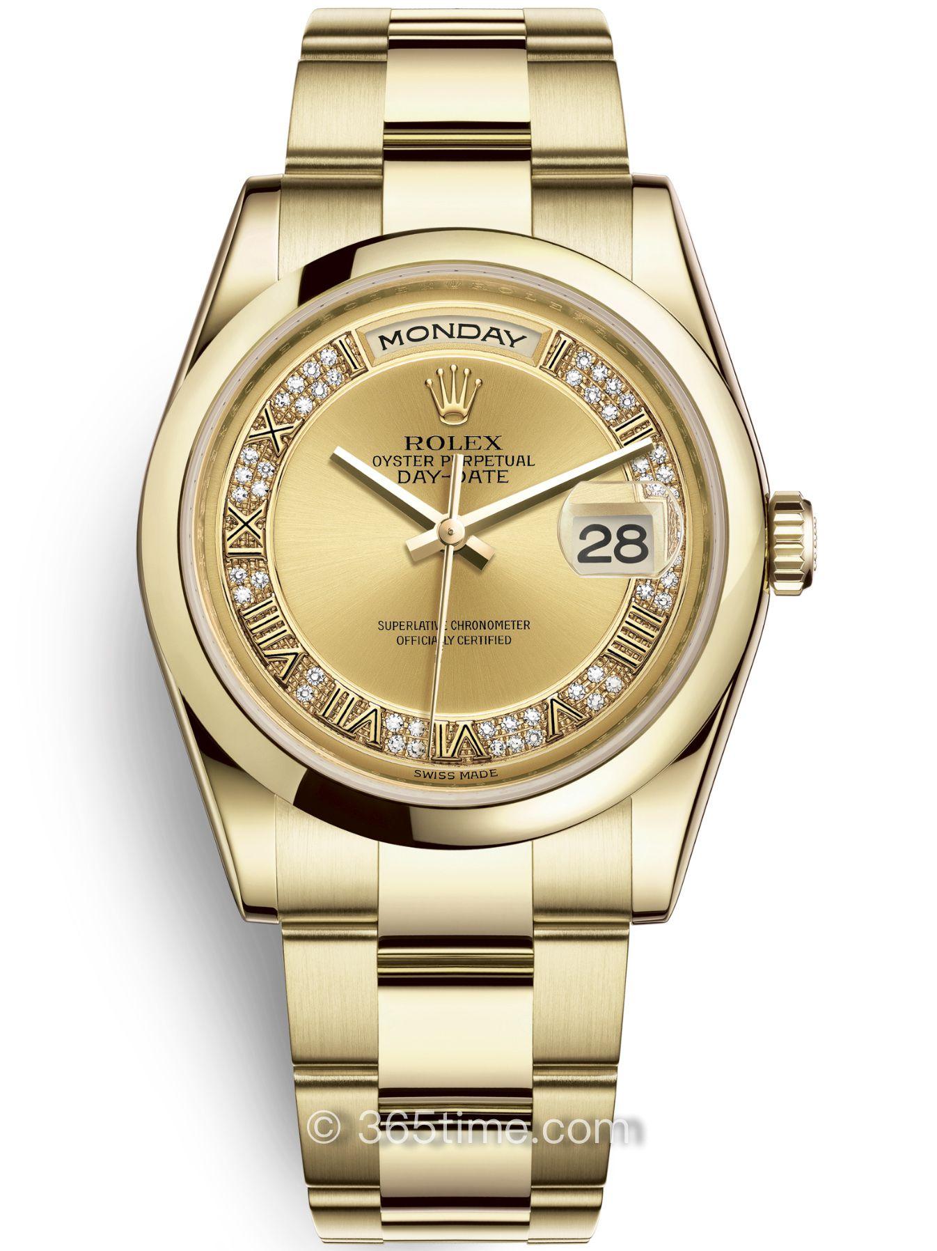 Rolex劳力士星期日历型36腕表118208-0319