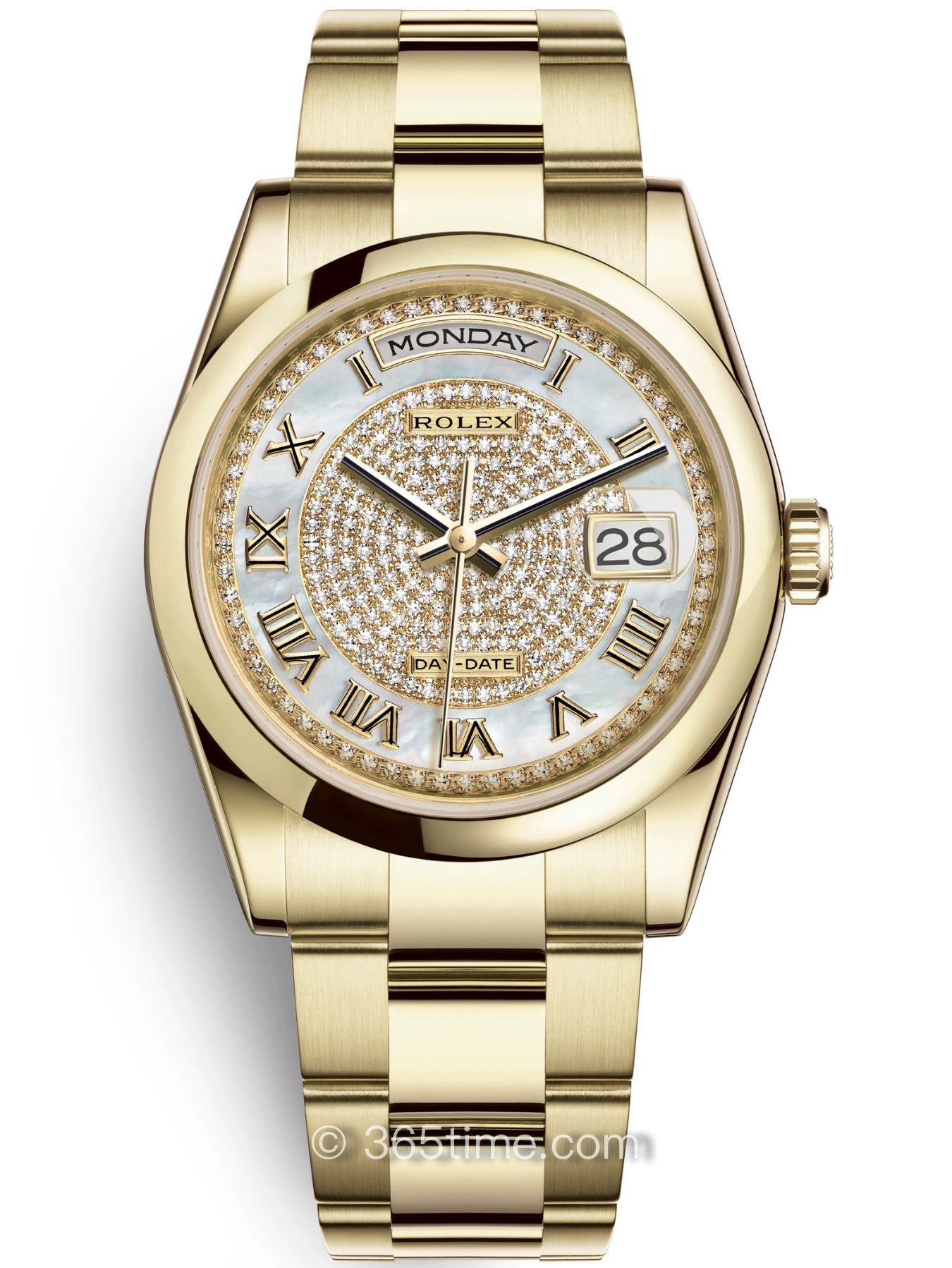 Rolex劳力士星期日历型36腕表118208-0347