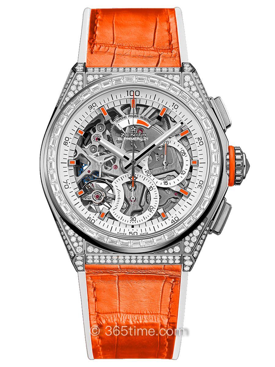 真力时DEFY EL PRIMERO 21 SWIZZ BEATZ特别版腕表45.9002.9004/76.R591
