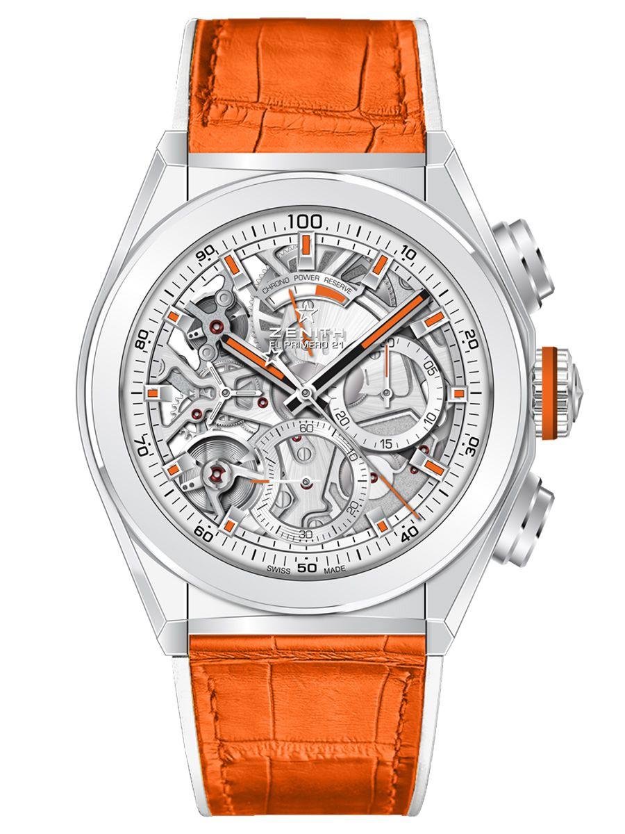 真力时DEFY EL PRIMERO 21 SWIZZ BEATZ特别版腕表49.9003.9004/76.R591