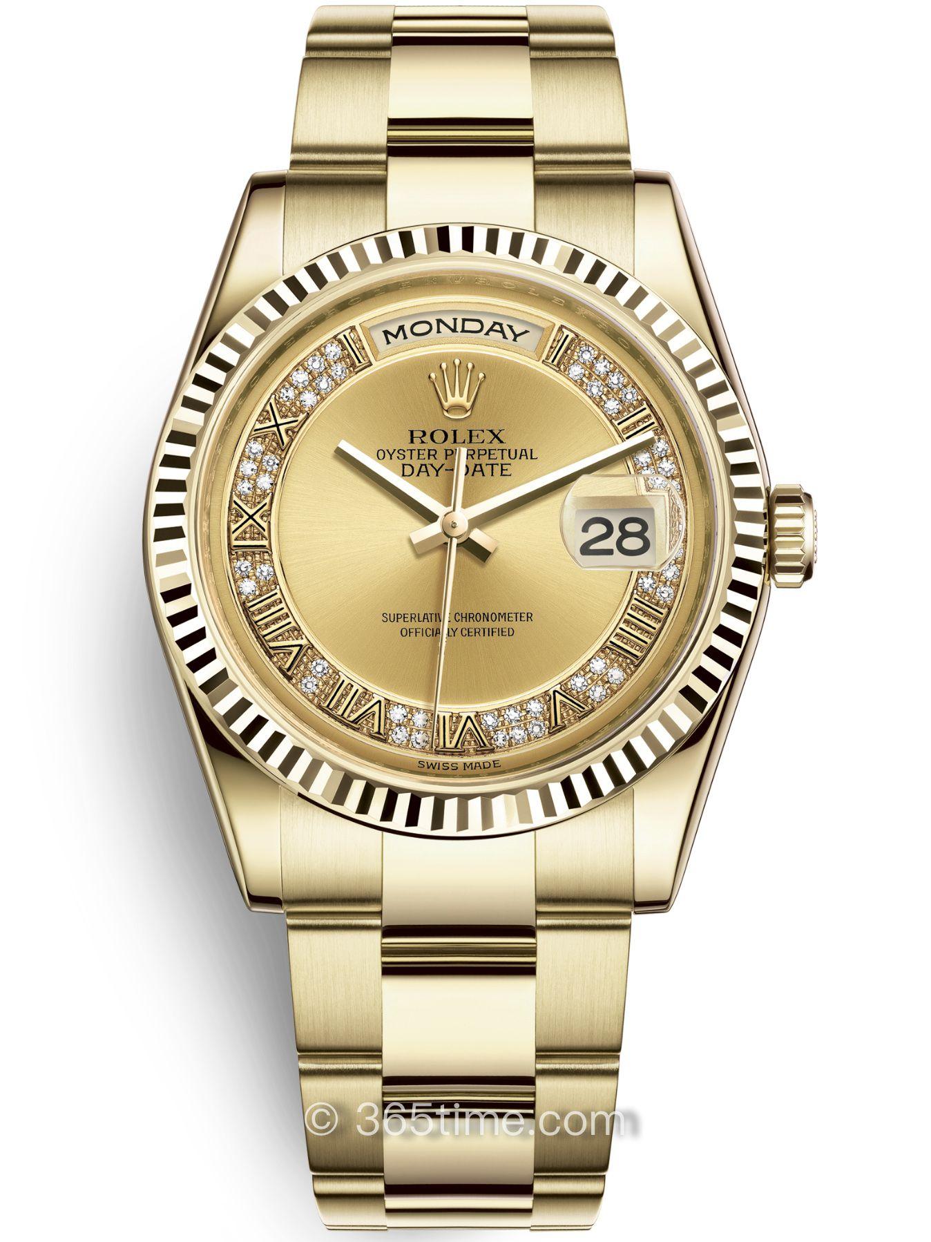 Rolex劳力士星期日历型36腕表118238-0181
