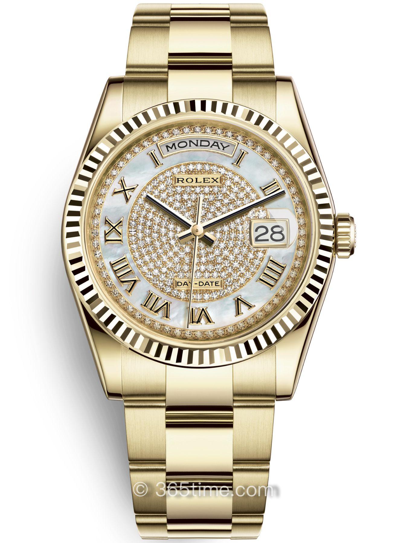 Rolex劳力士星期日历型36腕表118238-0386