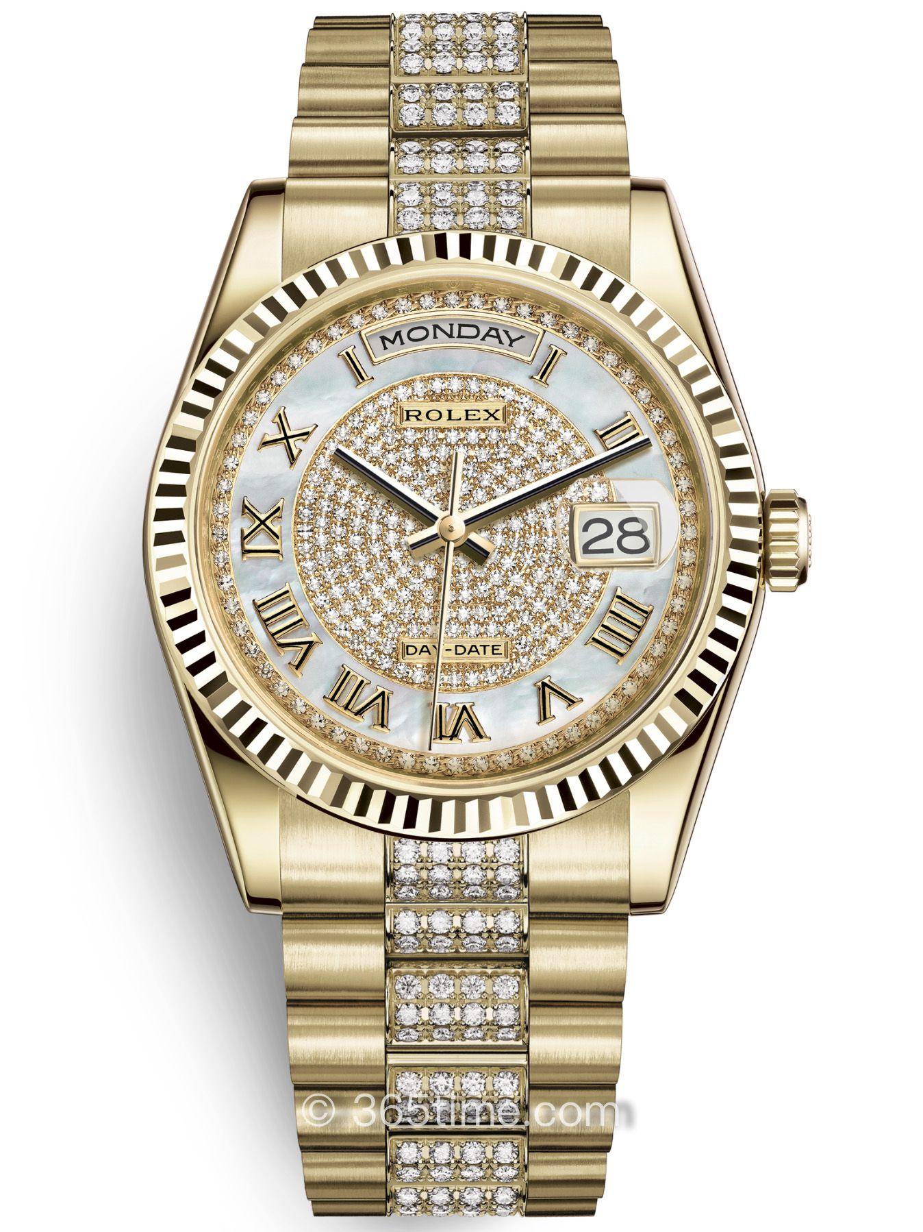 Rolex劳力士星期日历型36腕表118238-0406