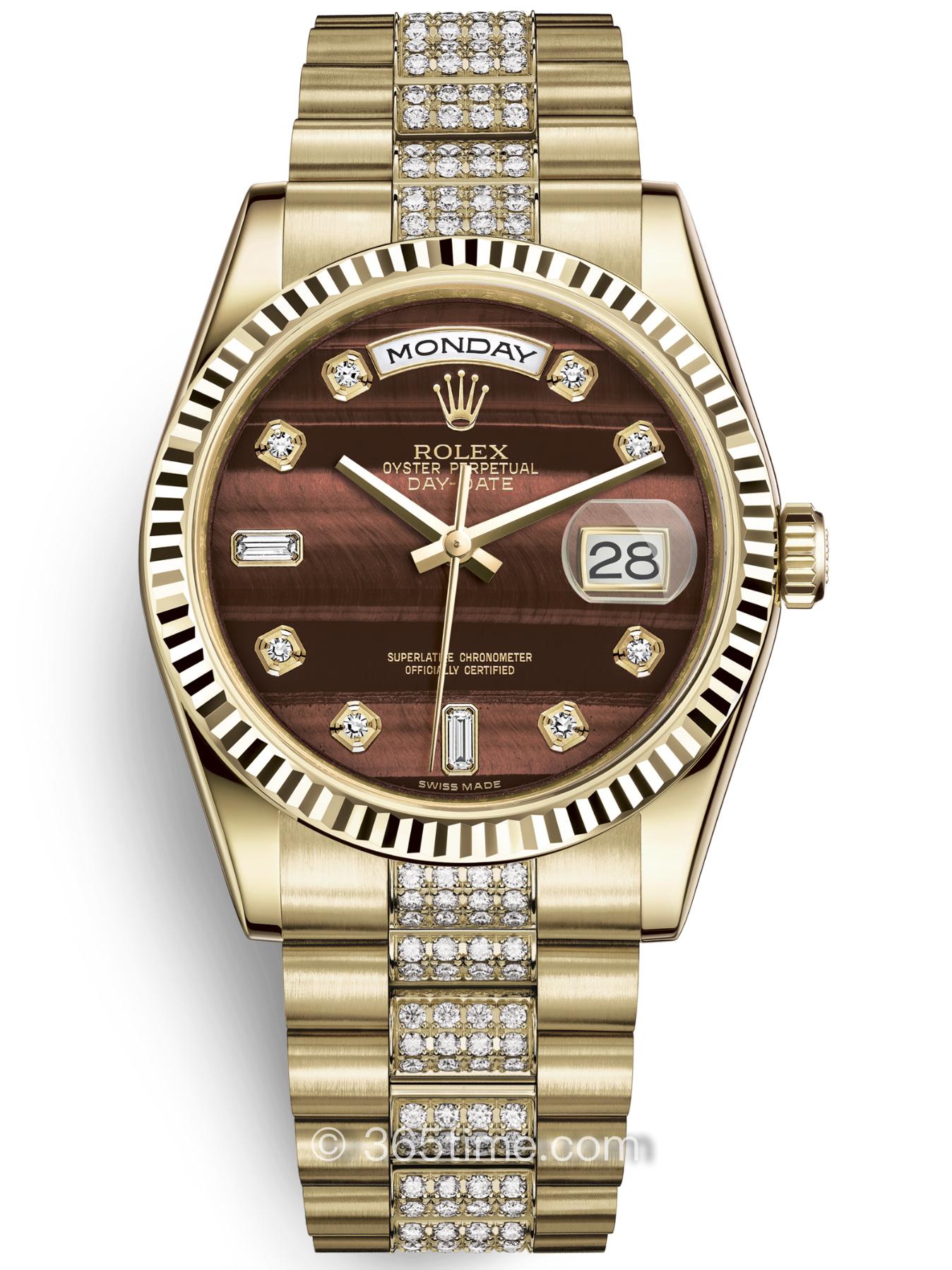 Rolex劳力士星期日历型36腕表118238-0421