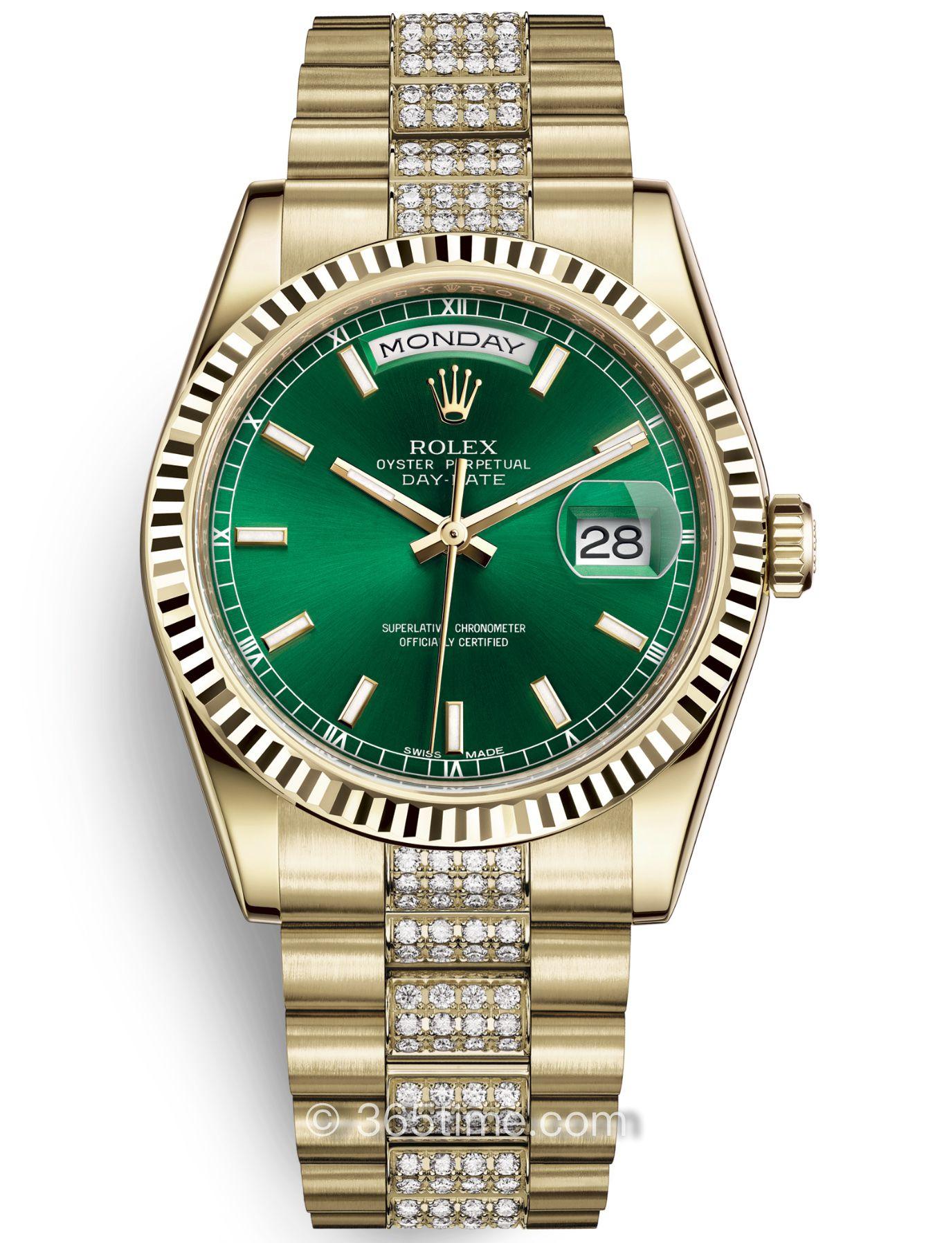 Rolex劳力士星期日历型36腕表118238-0435