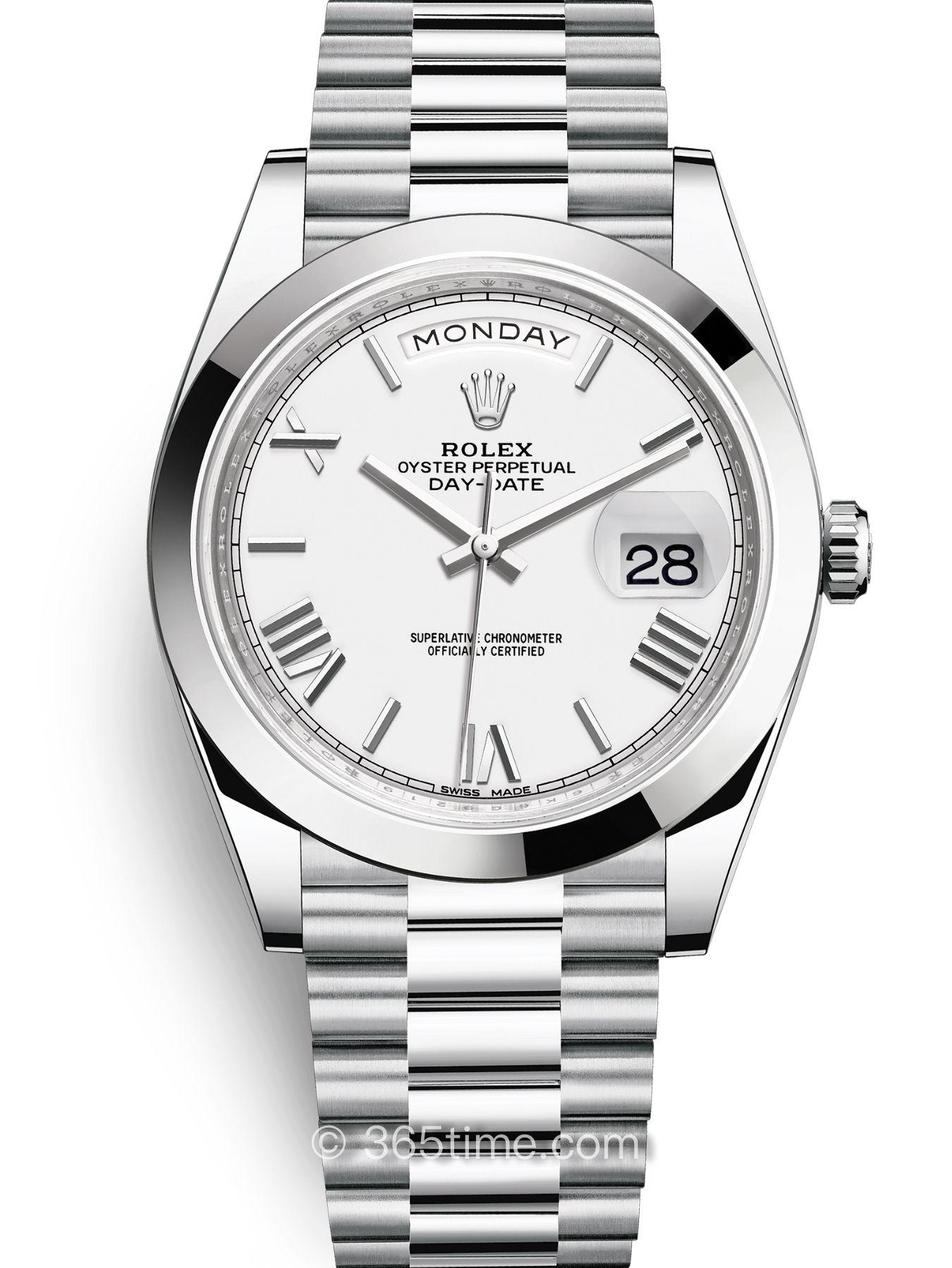 Rolex劳力士星期日历型40手表228206-0028