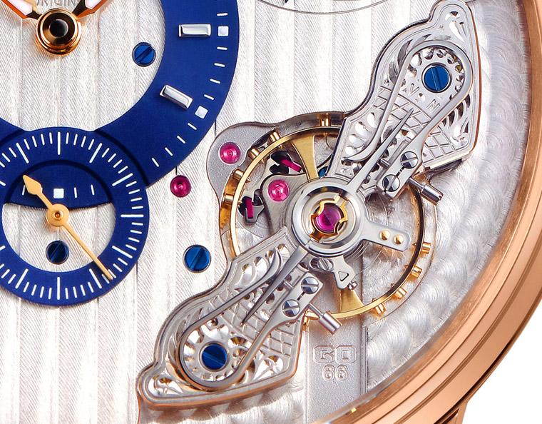 格拉苏蒂偏心系列机芯倒置腕表中国限量款1-66-07-01-05-30