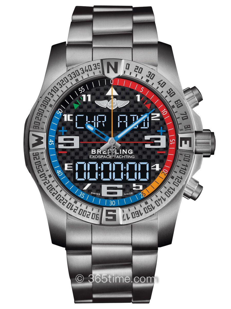 百年灵专业系列 外太空计时B55腕表EB5512221B1E1