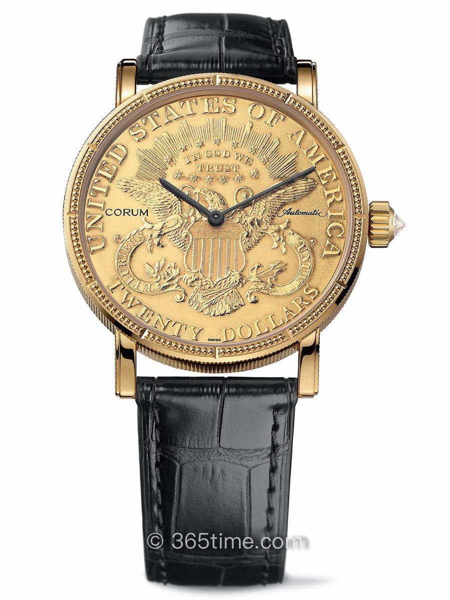 昆仑经典系列钱币腕表C293/00831