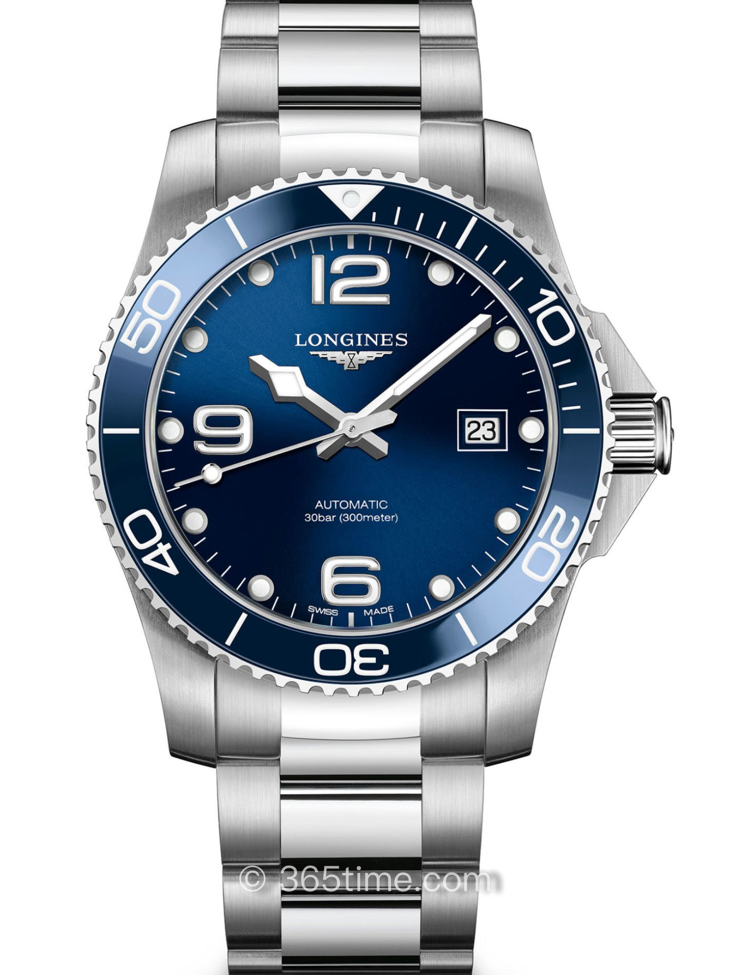 浪琴康卡斯系列自动机械潜水表L3.781.4.96.6
