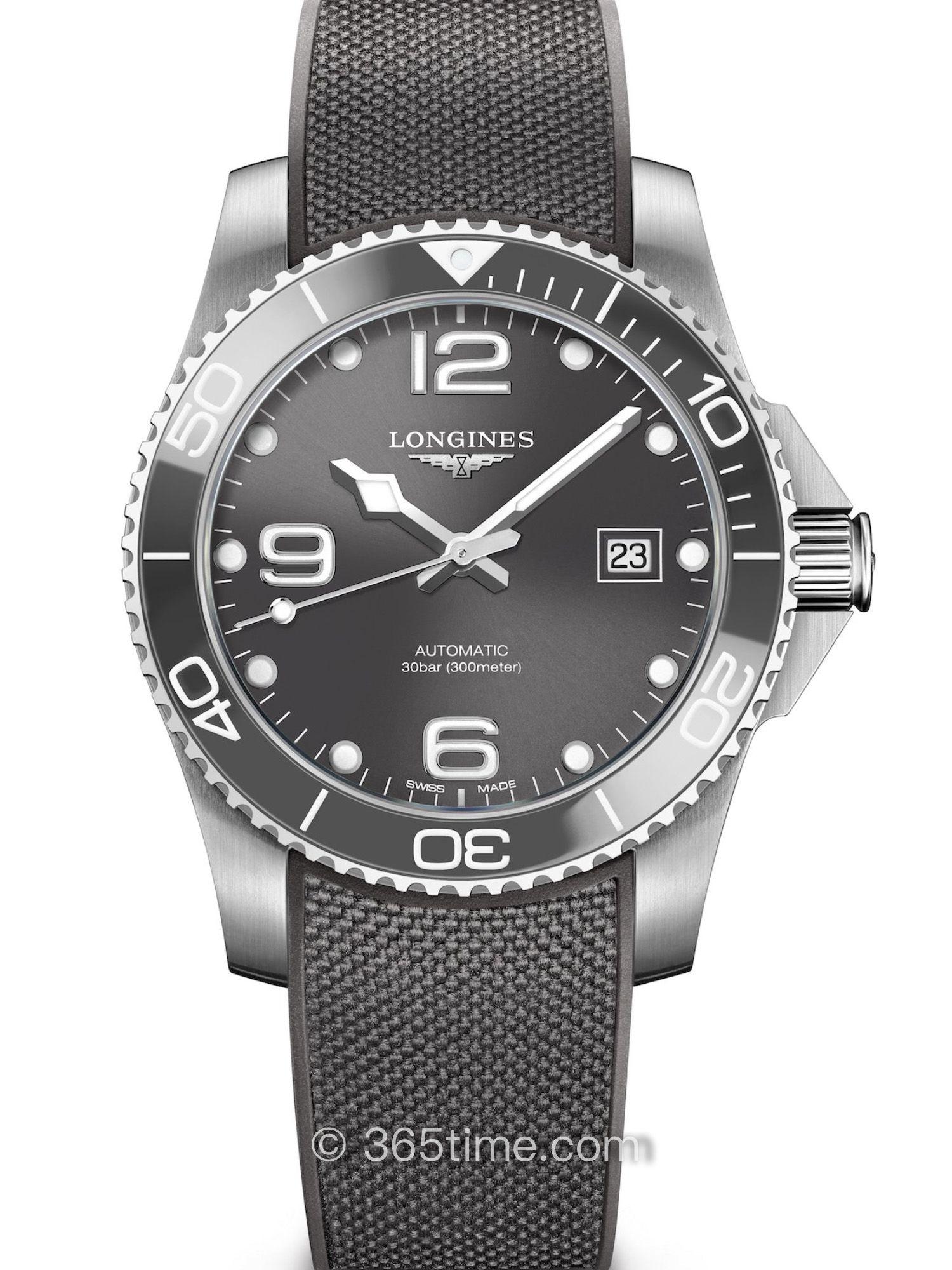 浪琴康卡斯自动机械潜水表L3.781.4.76.9