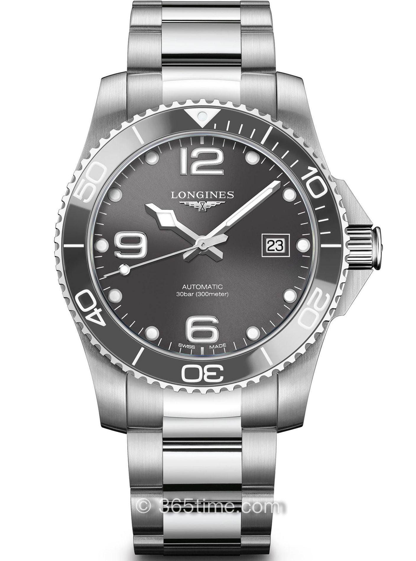 浪琴康卡斯自动机械潜水表L3.781.4.76.6
