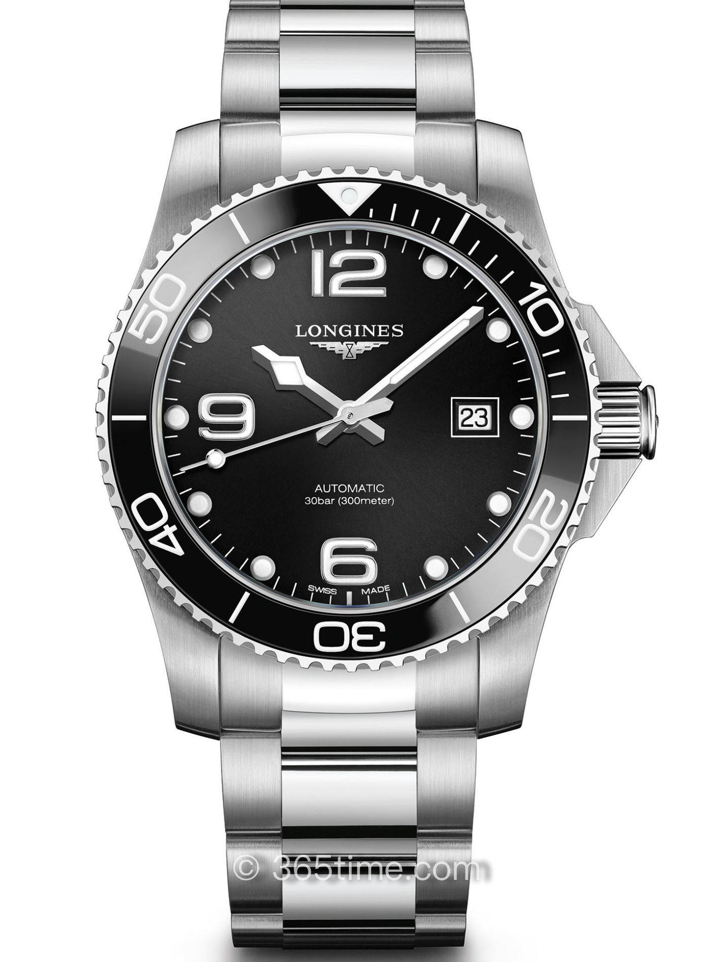 浪琴康卡斯自动机械潜水表L3.781.4.56.6