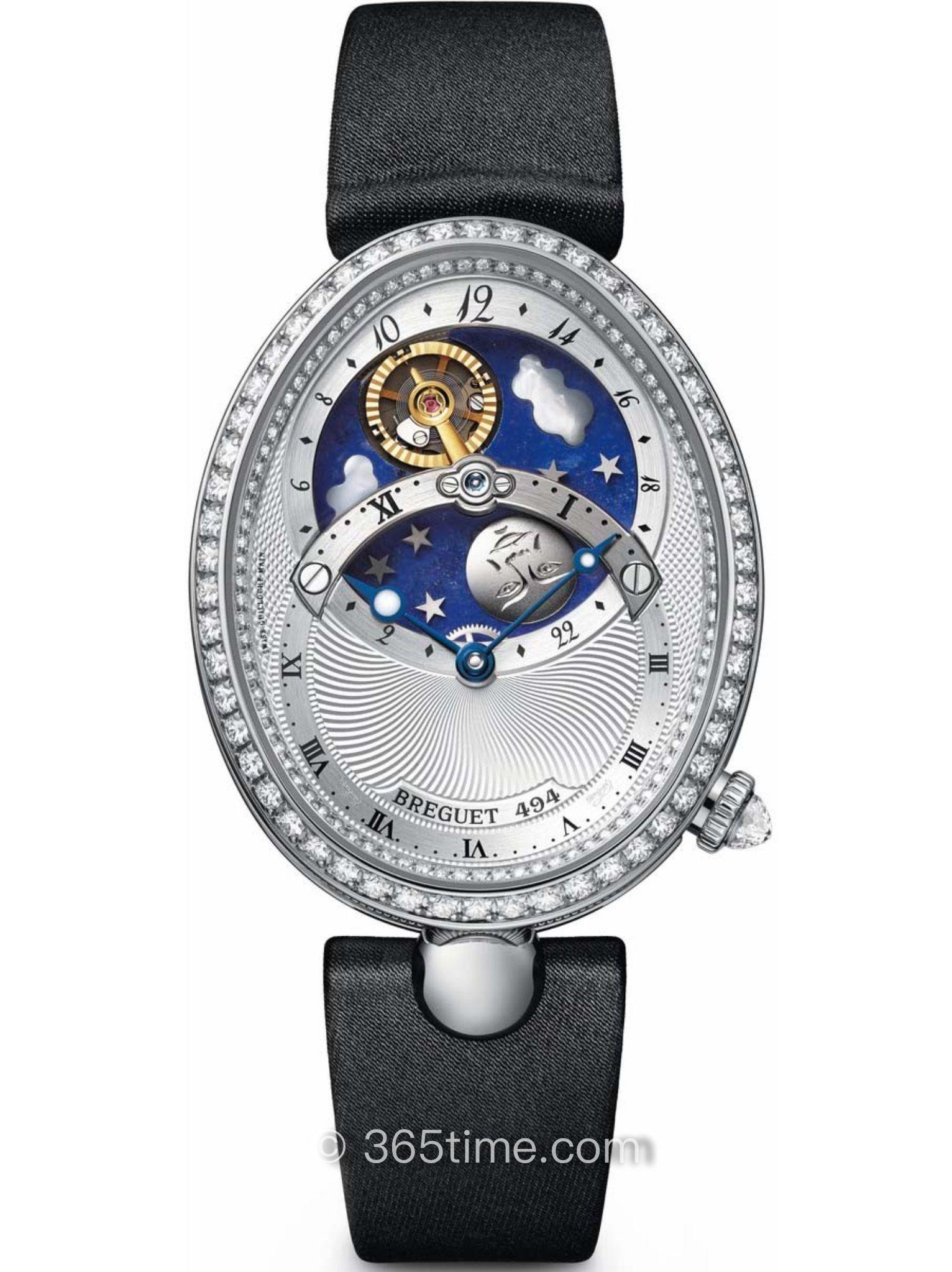 宝玑那不勒斯皇后系列8998BB/11/874 D00D腕表