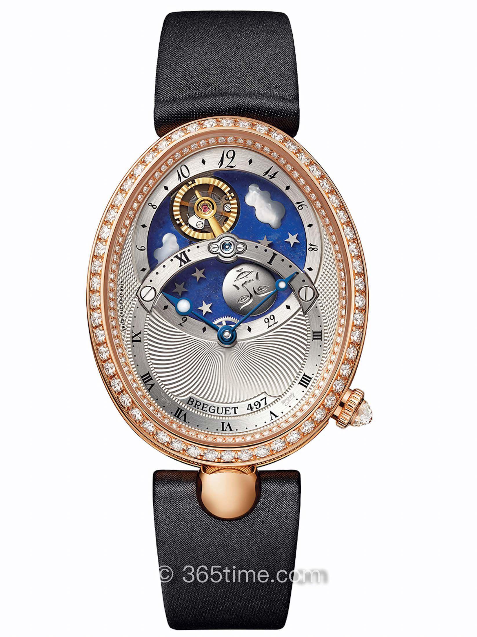 宝玑那不勒斯皇后系列8998BR/11/874 D00D腕表