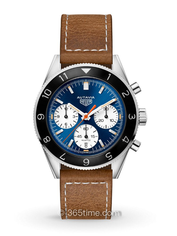 """泰格豪雅Autavia系列""""Watches of Switzerland""""纪念版CBE2115.FC8226计时码表"""