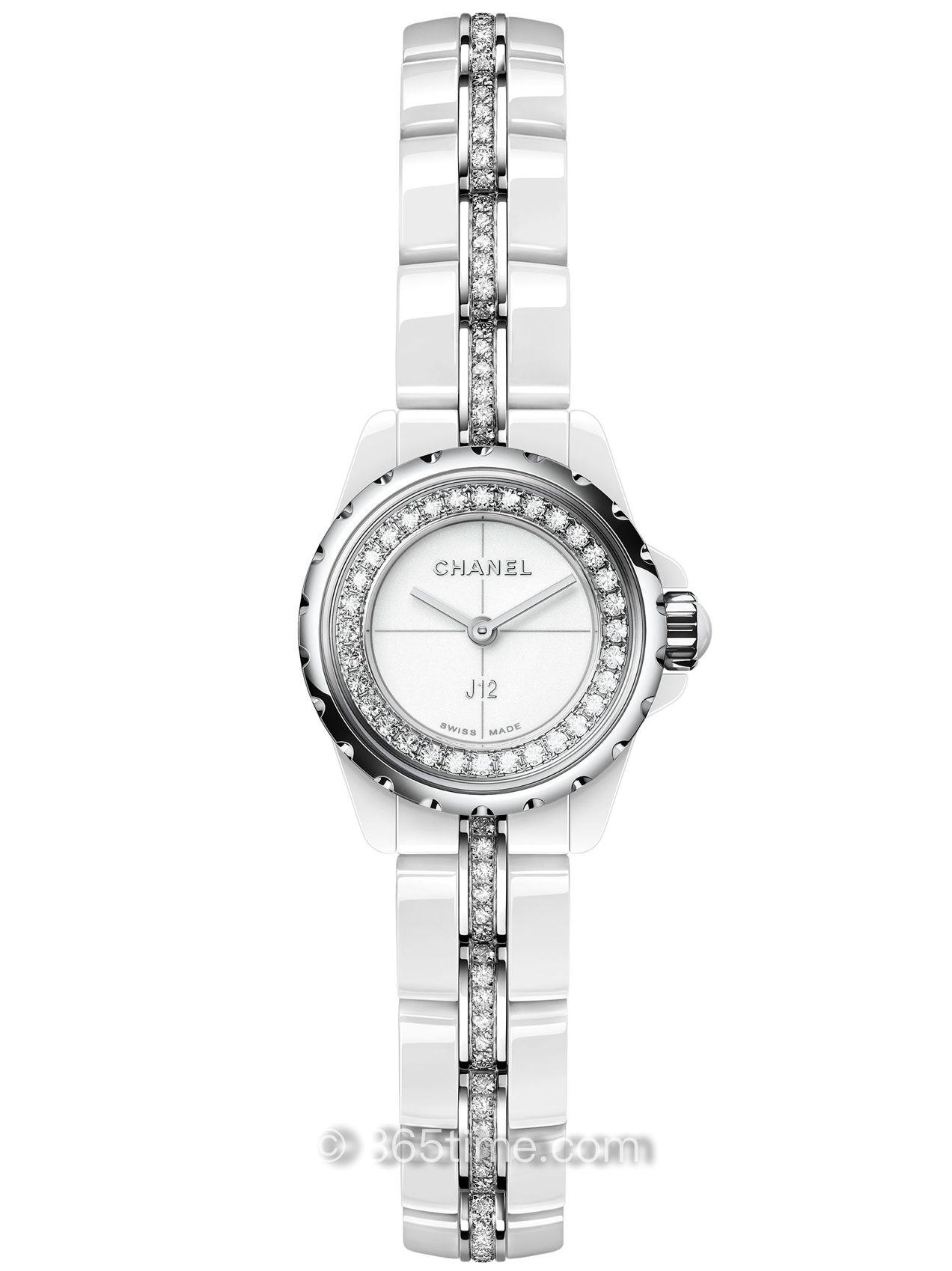 Chanel香奈儿J12∙XS白色腕表H5238