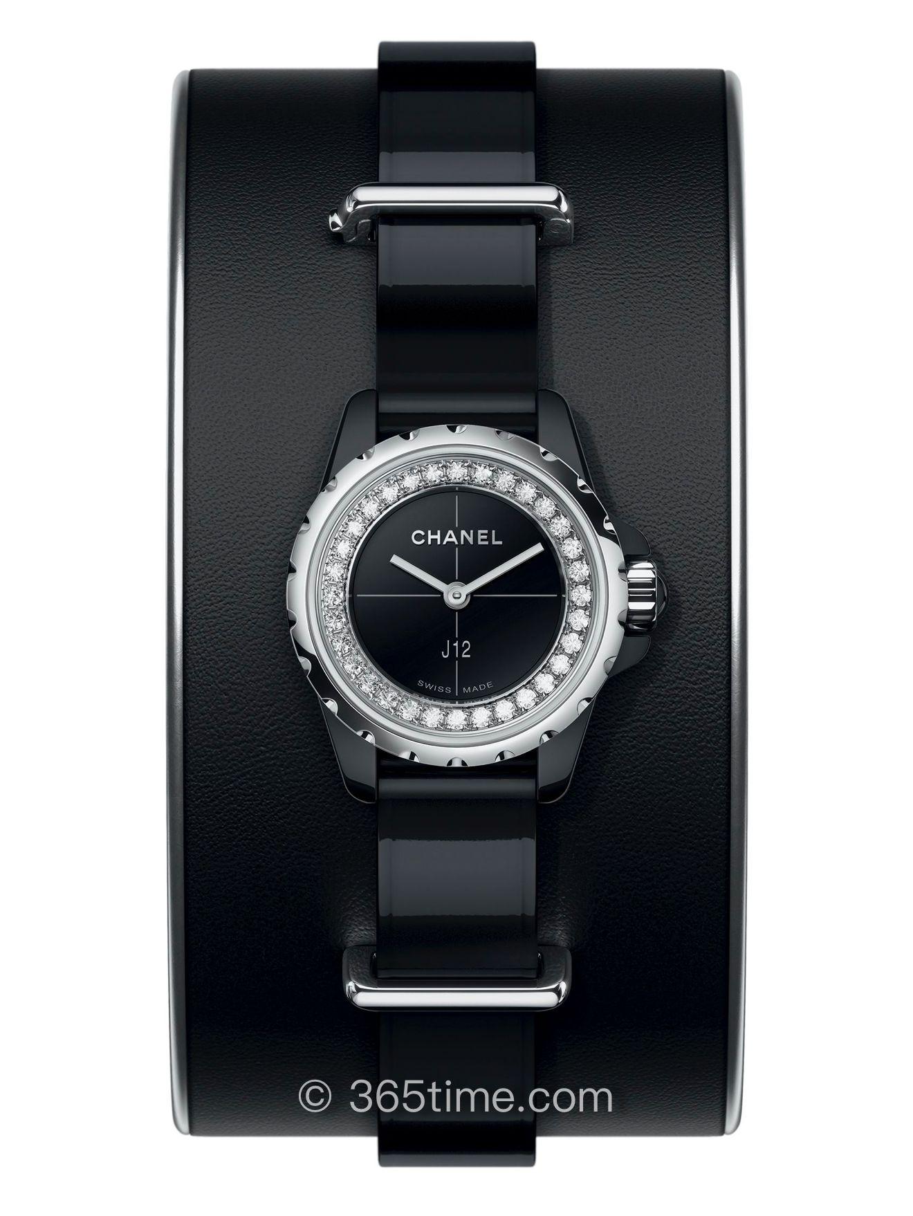 Chanel香奈儿J12∙XS黑色H4663