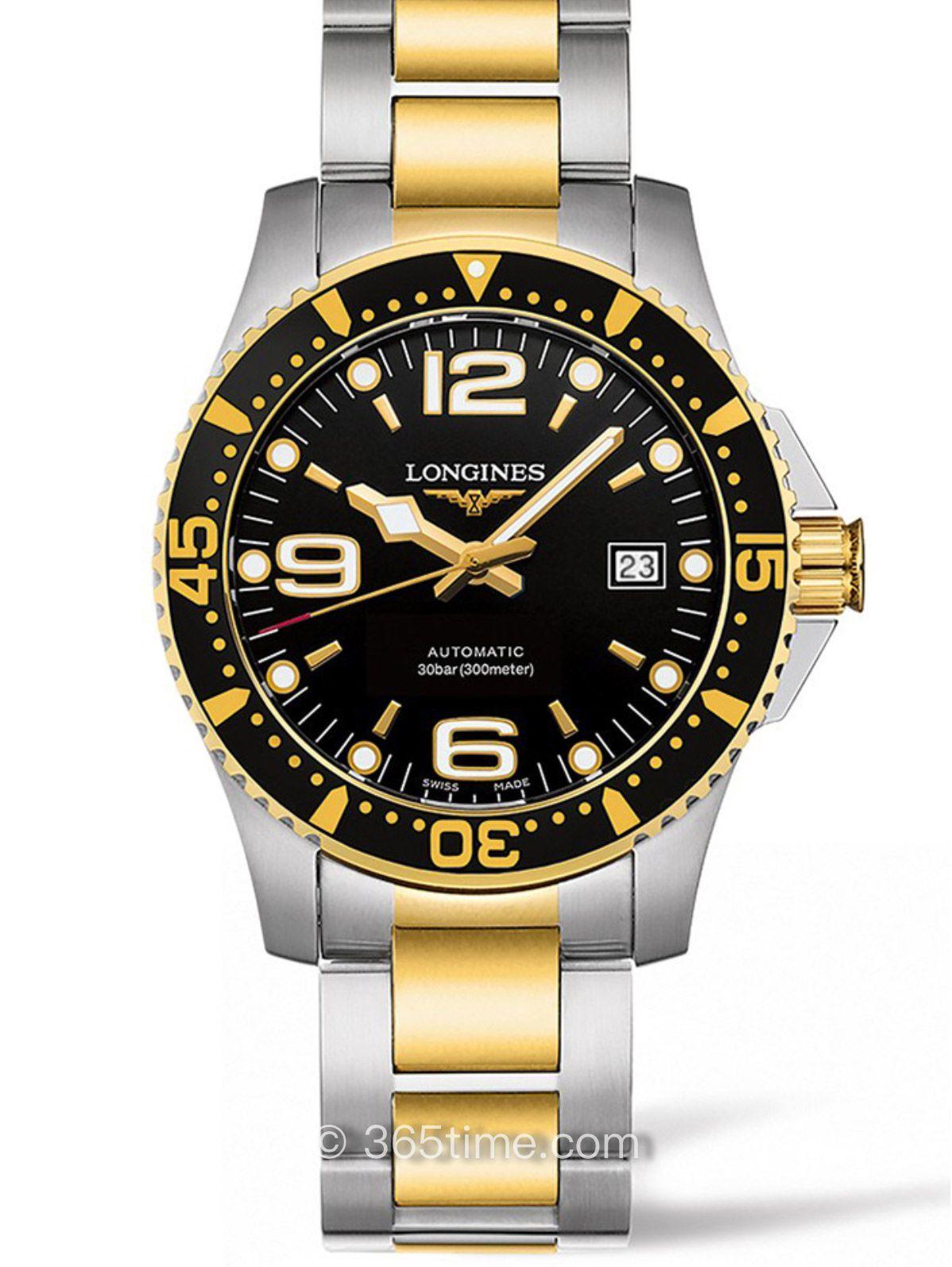 浪琴康卡斯系列石英潜水表L3.642.3.56.7