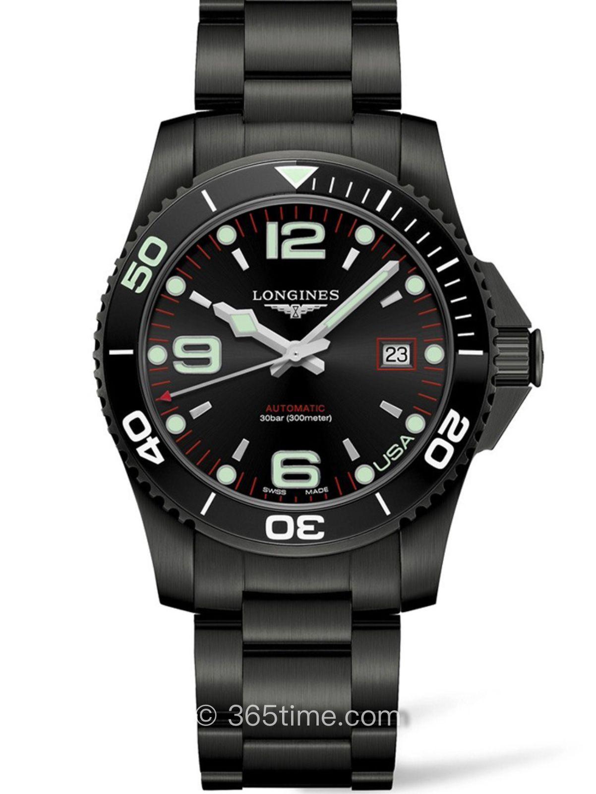 浪琴康卡斯系列自动机械潜水表L3.742.2.58.6