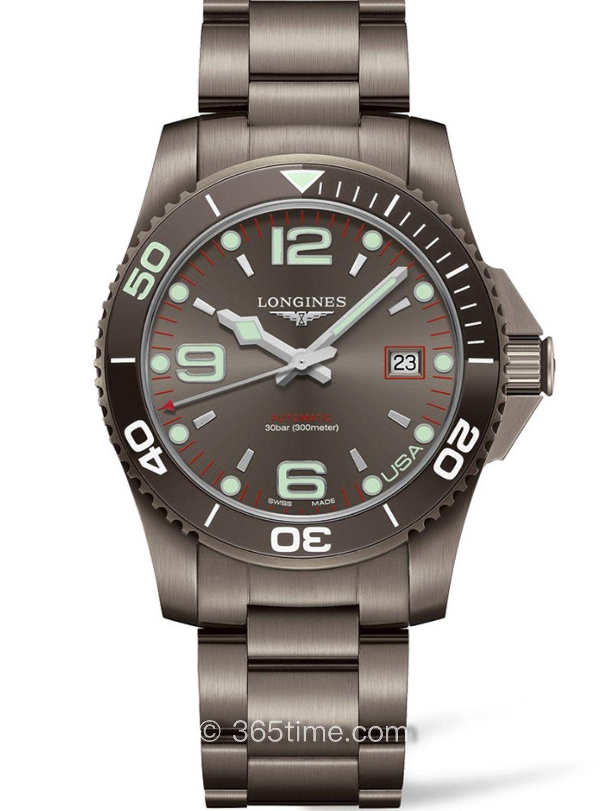 浪琴康卡斯系列自动机械潜水表L3.742.2.76.6