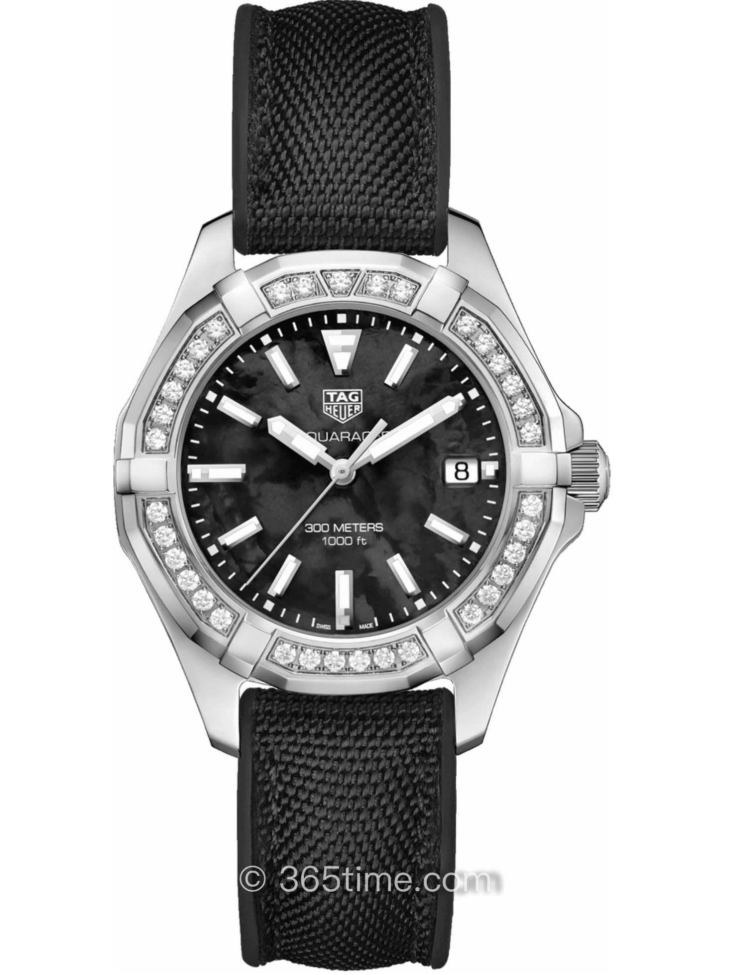 泰格豪雅竞潜35毫米石英女表WAY131P.FT6092