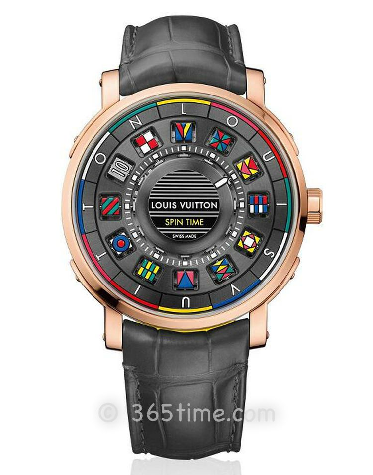 路易威登Escale Spin Time腕表Q5EG00