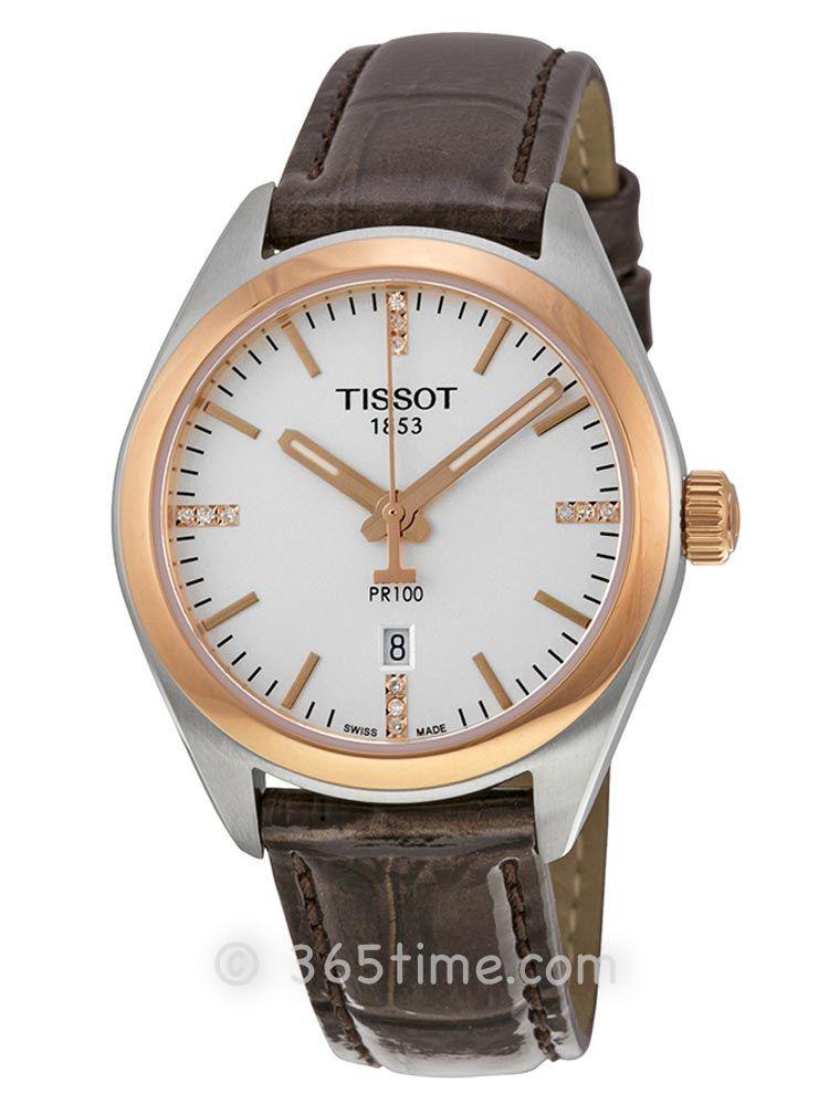 天梭T-SPORT系列女士石英表T101.210.26.036.00