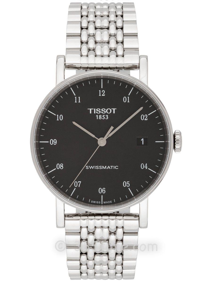 天梭魅时系列Swissmatic男士自动机械腕表T109.407.11.052.00