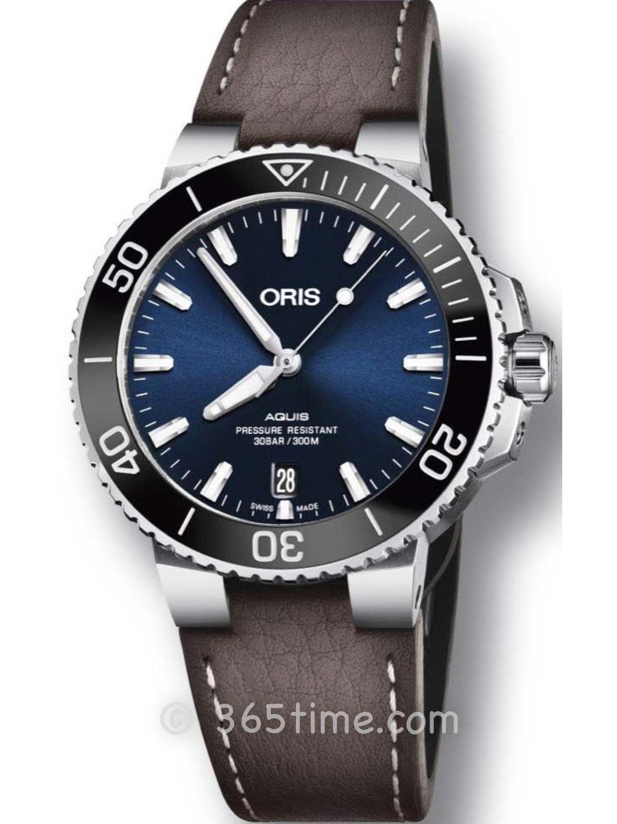 Oris豪利时潜水系列Aquis日历腕表01 733 7732 4135-07 5 21 10FC