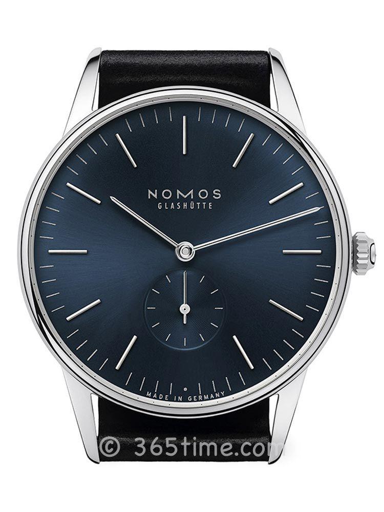 NOMOS ORION系列基本款手动机芯男表384.T1