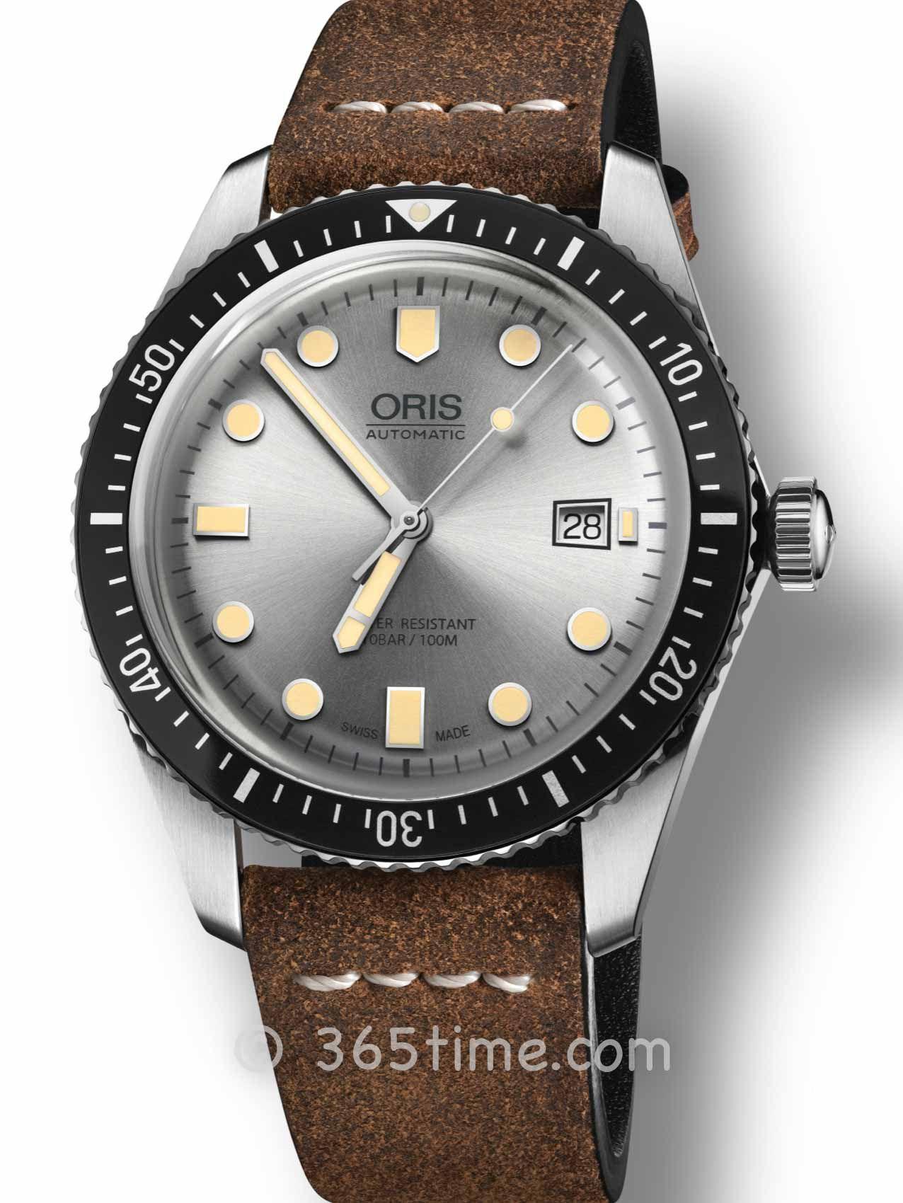 Oris豪利时潜水系列65年复刻版潜水腕表01 733 7720 4051-07 5 21 44