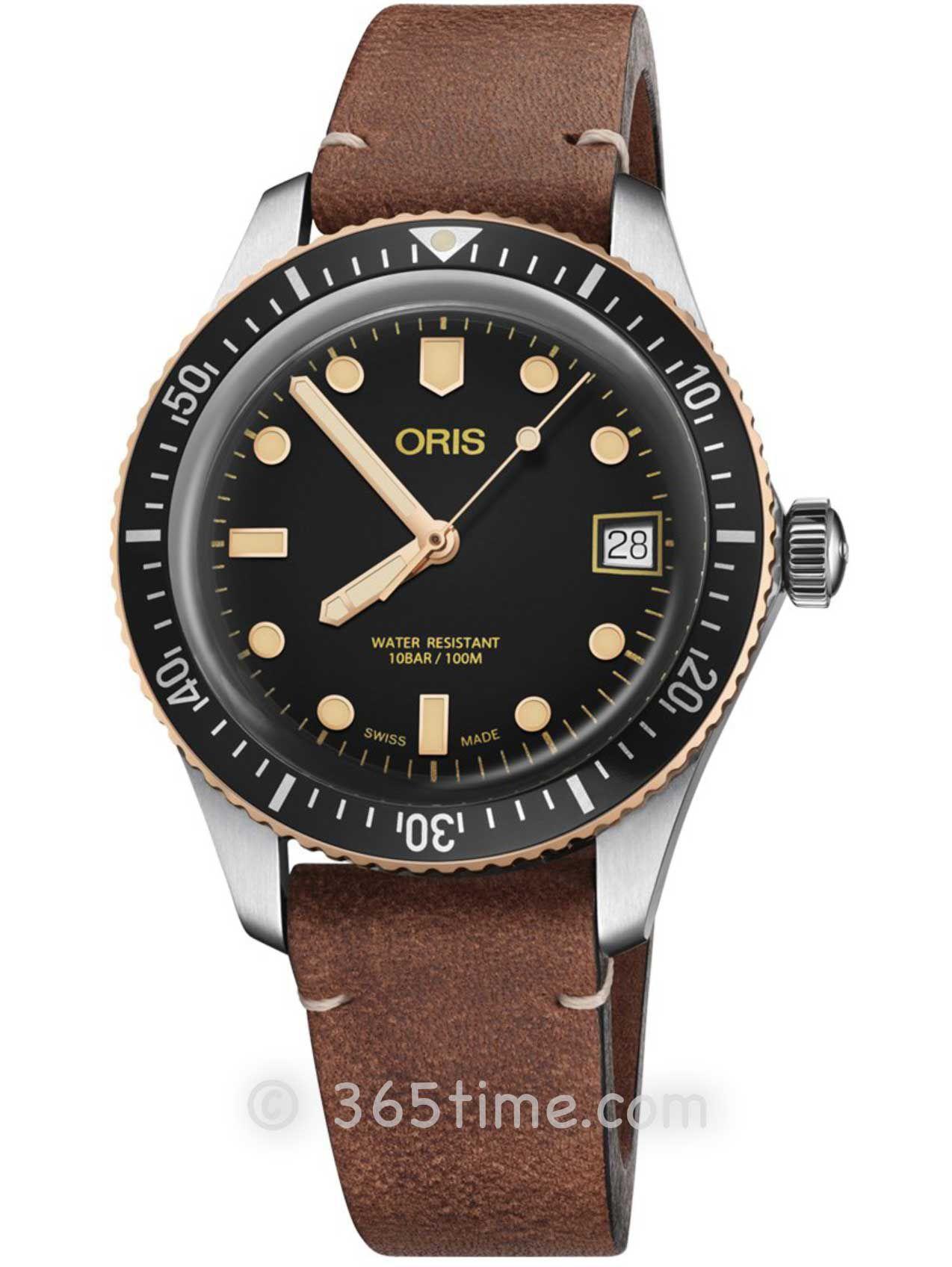 Oris豪利时潜水系列65年复刻版潜水腕表01 733 7747 4354-07 5 17 45