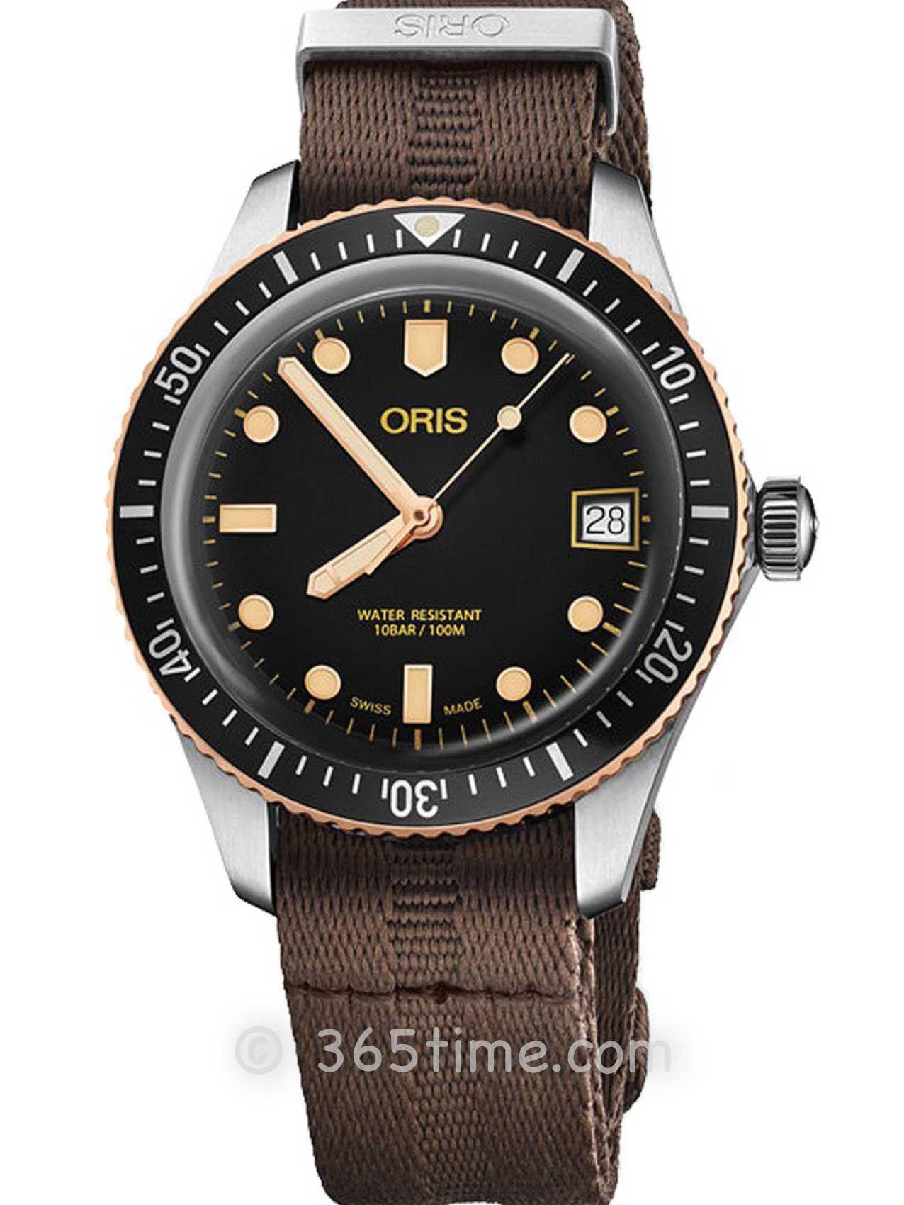Oris豪利时潜水系列65年复刻版潜水腕表01 733 7747 4354-07 5 17 30